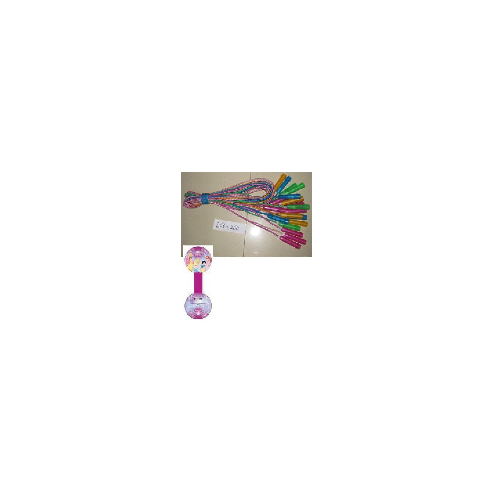 Скакалка, 260 см, Принцессы Дисней, в ассортименте