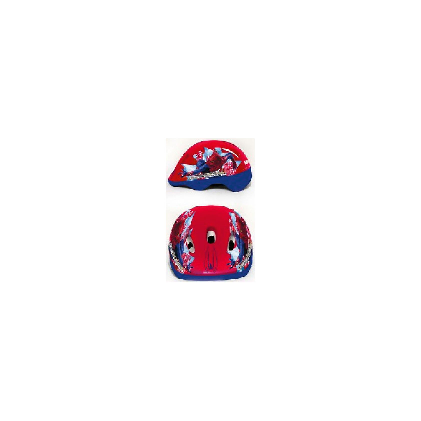 Шлем, р-р М, Человек-ПаукДетский шлем надежно защитит голову ребенка во время катания на роликах, велосипеде или скейтборде. Изделие выполнено из высококачественных ударопрочных материалов, имеет аэродинамическую форму и стильный дизайн. Яркий шлем с изображением Человека-Паука обязательно понравится ребенку и эффектно дополнит спортивный образ юного модника! Сделайте активный отдых не только увлекательным и интересным, но и безопасным для детей! <br><br>Дополнительная информация:<br><br>- Материал: пластик.<br>- Размер: М (от 8 лет).<br>- Застегивается на ремешки. <br>- Отверстия для вентиляции.<br>- Цвет: красный, синий.<br><br>Шлем, р-р М, Человек-Паук (Spider-Man), можно купить в нашем магазине.<br><br>Ширина мм: 1210<br>Глубина мм: 520<br>Высота мм: 420<br>Вес г: 240<br>Возраст от месяцев: 72<br>Возраст до месяцев: 144<br>Пол: Мужской<br>Возраст: Детский<br>SKU: 4616872