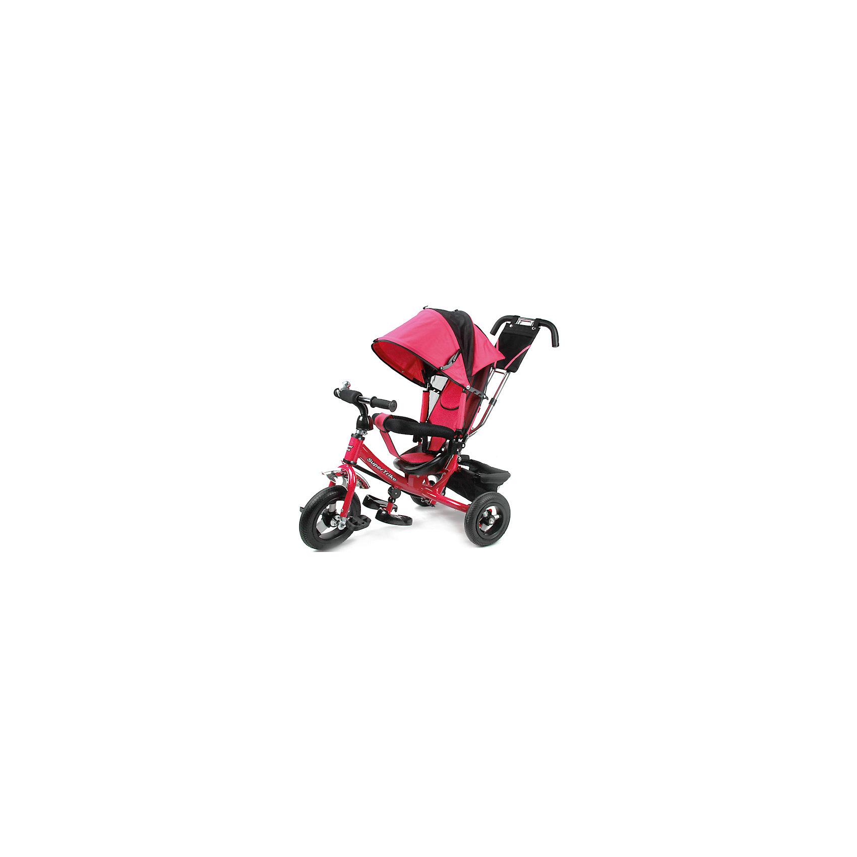 Трехколесный велосипед, с надувными колесами, Super Trike