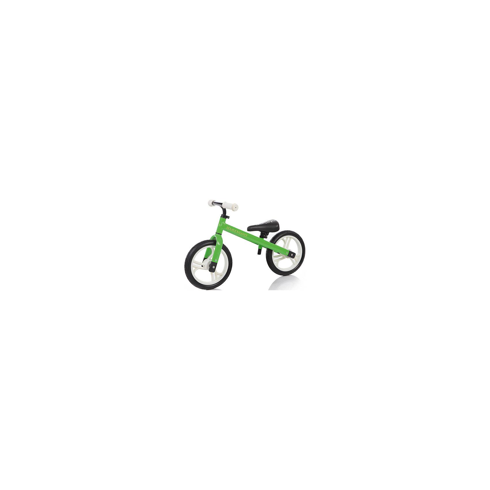 Беговел, салатовый, JetemБеговелы – это детские двухколесные велосипеды, у которых нет педалей. Они совмещают в себе черты велосипеда и самоката и помогают научиться удерживать равновесие.<br>Беговел Jetem (Жетем) оснащен удобным сидением и полиуретановыми колесами, не требующими накачивания. Высоту сидения можно регулировать.<br><br>Дополнительная информация:<br><br>Руль регулируется по высоте<br>12 дюймовые колеса из полиуретана<br>Эргономичное сидение с мягкой накладкой<br>Алюминиевая рама<br>Максимальная нагрузка: 50 кг.<br>Для детей ростом: от 90 см до 125 см<br>Минимальная высота сиденья: от 35 см<br>Вес 2,97кг<br>Эргономичное сидение с мягкой накладкой<br>Без тормоза и подножки<br><br>Беговел, салатовый, Jetem (Жетем) можно купить в нашем магазине.<br><br>Ширина мм: 690<br>Глубина мм: 160<br>Высота мм: 350<br>Вес г: 3000<br>Возраст от месяцев: 24<br>Возраст до месяцев: 72<br>Пол: Унисекс<br>Возраст: Детский<br>SKU: 4618473