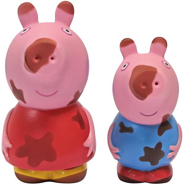 Набор Чистюля или грязнуля, Свинка ПеппаИгрушки для ванной<br>Детки обожают купаться в ванне в компании любимых игрушек, поэтому игровой набор «Чистюля или грязнуля» с фигурками в виде героев мультфильма «Свинка Пеппа» обязательно приведет в восторг вашего малыша. Пеппа и Джордж прыгали по лужам и перепачкались в грязи. Им срочно нужно помыться! Опустите их в теплую воду, и пятна исчезнут, будто их и не бывало. Достаньте игрушки из воды, подождите немного – вы увидите, как магическим образом пятнышки появляются снова.<br><br>Дополнительная информация:<br><br>В игровом наборе для ванной «Чистюля или грязнуля» «Peppa Pig» 2 фигурки из пластизоля, брызгающиеся водой: Свинка Пеппа (10 см) и Малыш Джордж (8 см). <br>Пятна на фигурках исчезают в теплой воде. <br>Упаковка размером 17,2х13,8х6,2 см.<br><br>Набор Чистюля или грязнуля, Свинка Пеппа (Peppa Pig) можно купить в нашем магазине.<br><br>Ширина мм: 173<br>Глубина мм: 145<br>Высота мм: 173<br>Вес г: 100<br>Возраст от месяцев: 36<br>Возраст до месяцев: 84<br>Пол: Унисекс<br>Возраст: Детский<br>SKU: 4621977