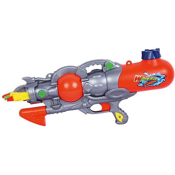 Водный пистолет Морское сражение (трёхствольный), 46 см, BebelotИгрушечное оружие<br>Водный пистолет Морское сражение, Bebelot, станет отличным развлечением в жаркие летние дни. Игрушка выполнена в ярком красочном дизайне и состоит из автомата с тремя стволами и съемного резервуара для воды, который надежно фиксируется при помощи резьбы. Все материалы качественные и прочные. Оружие-водомет имеет небольшой вес и удобно располагается в руке. Перед началом игры заполните резервуар водой и начинайте стрелять! При нажатии на курок автомат выстреливает струей воды, а благодаря тройному стволу водяной залп будет особенно мощным. Юные любители пострелять могут устраивать настоящие водные сражения, бесконечно наполняя резервуар водой и поливая друг друга. Игры с водяным оружием не только увлекательны, но и безопасны для ребёнка, развивают глазомер, точность, меткость и ловкость.<br><br>Дополнительная информация:<br><br>- Материал: пластик.<br>- Длина водомета: 46 см.<br>- Размер упаковки: 46 х 22 х 8 см.<br>- Вес: 0,38 кг.<br> <br>Водный пистолет Морское сражение (трёхствольный), 46 см., Bebelot, можно купить в нашем интернет-магазине.<br>Ширина мм: 460; Глубина мм: 220; Высота мм: 80; Вес г: 380; Возраст от месяцев: 36; Возраст до месяцев: 72; Пол: Унисекс; Возраст: Детский; SKU: 4622215;