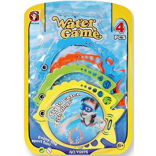 Детская игра Поймай рыбку, YG SportИгровые наборы<br>Детская игра Поймай рыбку, YG Sport - прекрасный вариант для подвижных активных игр в воде. В комплект входят 4 красочных кольца, выполненных в виде разноцветных рыбок. Задача игры - ловить кольца-рыбок, плавающих по поверхности воды. Колечки выполнены из высококачественного пластика, не содержат токсических веществ. Игрушка развивает ловкость, координацию движений и сноровку, способствует более быстрому обучению плаванию.<br><br>Дополнительная информация:<br><br>- В комплекте: 4 кольца-рыбки.<br>- Материал: пластик. <br>- Размер упаковки: 22,5 х 2 х 31,7 см.<br>- Вес: 120 гр.<br> <br>Детскую игру Поймай рыбку, YG Sport, можно купить в нашем интернет-магазине.<br><br>Ширина мм: 225<br>Глубина мм: 20<br>Высота мм: 317<br>Вес г: 120<br>Возраст от месяцев: 72<br>Возраст до месяцев: 1188<br>Пол: Унисекс<br>Возраст: Детский<br>SKU: 4622220