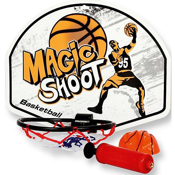 Детская игра Баскетбол, YG SportИгровые наборы<br>Детская игра Баскетбол, YG Sport - прекрасный вариант для подвижных активных игр на открытом воздухе. В комплект входят щит с кольцом, насос и мяч. Перед началом игры установите щит-кольцо и накачайте баскетбольный мячик. Все предметы выполнены в яркой цветовой гамме из прочных и качественных материалов. Популярная игра надолго увлечет детское внимание, прекрасно поможет в развитии координации и моторики движений, ловкости, меткости и внимательности. <br><br>Дополнительная информация:<br><br>- В комплекте: щит с кольцом, мяч, насос.<br>- Материал: пластик. <br>- Размер щита: 37 х 28 см.<br>- Диаметр мяча: 10 см. <br>- Размер упаковки: 37,3 х 4,5 х 33,5 см.<br>- Вес: 0,379 кг.<br> <br>Детскую игру Баскетбол, YG Sport, можно купить в нашем интернет-магазине.<br><br>Ширина мм: 373<br>Глубина мм: 45<br>Высота мм: 335<br>Вес г: 379<br>Возраст от месяцев: 36<br>Возраст до месяцев: 72<br>Пол: Унисекс<br>Возраст: Детский<br>SKU: 4622221