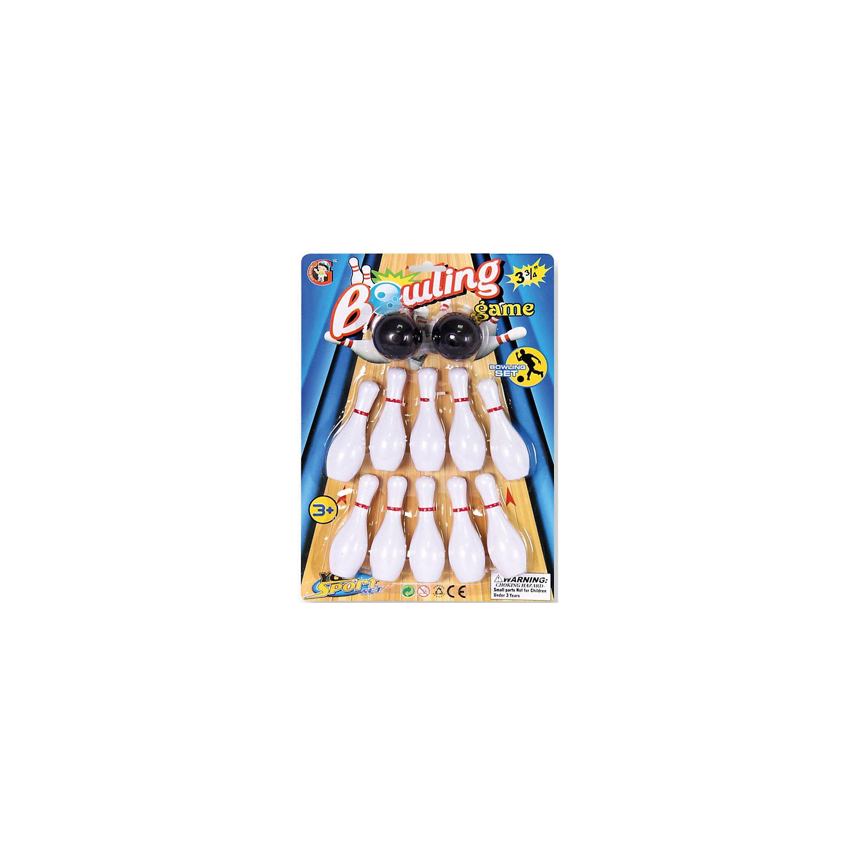 Детская игра Боулинг, YG SportДетская игра Боулинг, YG Sport, прекрасный вариант для подвижных активных игр на открытом воздухе. В комплект входят кегли яркой белой расцветки и два шара с выемками-отверстиями для удобного захвата. Цель игры - сбить шаром максимальное количество кеглей. Можно играть как в одиночку, так и в компании друзей или родителей. Набор лёгкий и компактный, что позволяет брать его с собой в дорогу, поездки и путешествия. Игра в боулинг развивает ловкость, меткость и координацию движений, а также помогает в укреплении общефизического состояния. <br><br>Дополнительная информация:<br><br>- В комплекте: кегли - 10 шт., шары - 2 шт.<br>- Материал: пластик. <br>- Длина кегли: 10 см.<br>- Размер упаковки: 30 х 10 х 28 см.<br>- Вес: 56 гр.<br> <br>Детскую игру Боулинг, YG Sport, можно купить в нашем интернет-магазине.<br><br>Ширина мм: 226<br>Глубина мм: 48<br>Высота мм: 320<br>Вес г: 111<br>Возраст от месяцев: 36<br>Возраст до месяцев: 72<br>Пол: Унисекс<br>Возраст: Детский<br>SKU: 4622223
