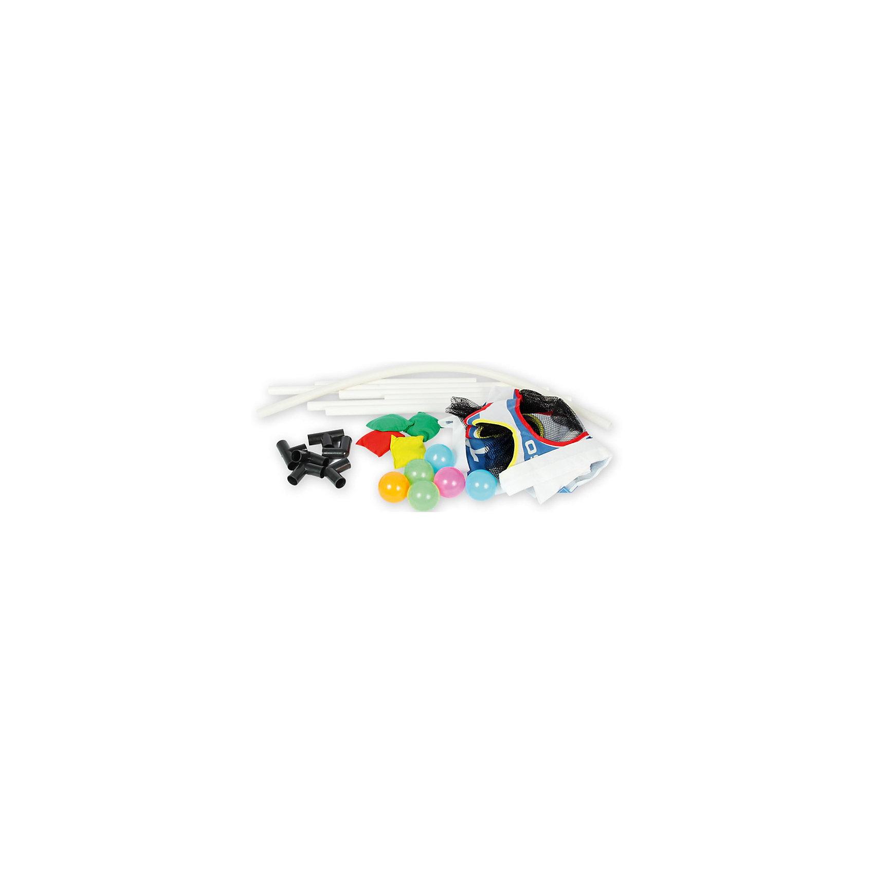Детская игра Точный бросок, YG SportДетская игра Точный бросок, YG Sport - прекрасно подойдет для всей семьи и поможет разнообразить отдых на даче или на природе. В комплект входят шесть мячей яркой расцветки, мишень с ловушками и мешочки. Задача участников игры - попасть мячом в ловушку на мишени. На поверхности мишени нанесены цифры для обозначения количества очков-выигрышей. Все предметы выполнены из прочного и качественного материала, безопасного для детского здоровья. Игра развивает мелкую и крупную моторику, сообразительность и ловкость, внимательность и меткость.<br><br>Дополнительная информация:<br><br>- В комплекте: мишень с ловушками, мячи - 6 шт., мешочки - 3 шт.<br>- Материал: пластик. <br>- Размер одной ракетки: 38 см.<br>- Размер упаковки: 61 х 6 х 35 см.<br>- Вес: 0,48 кг.<br> <br>Детскую игру Точный бросок, YG Sport, можно купить в нашем интернет-магазине.<br><br>Ширина мм: 610<br>Глубина мм: 60<br>Высота мм: 350<br>Вес г: 784<br>Возраст от месяцев: 36<br>Возраст до месяцев: 72<br>Пол: Унисекс<br>Возраст: Детский<br>SKU: 4622231