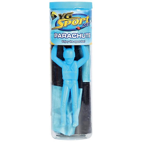 Детская игра Парашютист, YG SportТрансформеры-игрушки<br>Детская игра Парашютист, YG Sport, непременно заинтересует Вашего ребенка и поможет весело провести время на открытом воздухе. Запускайте маленькую фигурку человечка на настоящем парашюте! Посмотрите, как высоко он может взлететь. Специальное пусковое устройство позволяет управлять и регулировать движение в воздухе парашюта. Набор упакован в компактную тубу. Игрушка способствует развитию воображения, фантазии, крупной и мелкой моторики.<br><br>Дополнительная информация:<br><br>- В комплекте: парашют, фигурка.<br>- Материал: пластик, резина. <br>- Размер парашюта: 51 см.<br>- Размер упаковки: 5,8 х 5,8 х 24,5 см.<br>- Вес: 39 гр.<br> <br>Детскую игру Парашютист, YG Sport, можно купить в нашем интернет-магазине.<br>Ширина мм: 51; Глубина мм: 49; Высота мм: 155; Вес г: 39; Возраст от месяцев: 36; Возраст до месяцев: 72; Пол: Унисекс; Возраст: Детский; SKU: 4622232;