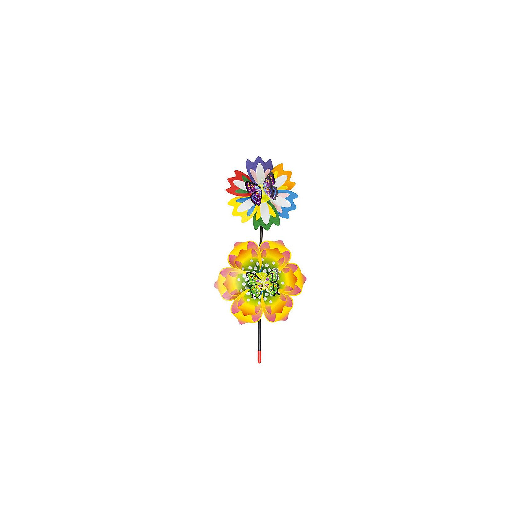 Ветрячок 2 вертушки, 56х25 см, ZilmerВетрячки - популярное летнее развлечение на свежем воздухе. Ветрячок 2 вертушки, Zilmer, имеет яркий привлекательный дизайн, разноцветные лепесточки крутятся даже от малейшего ветерка. Игрушка прекрасно подойдет и девочкам и мальчикам, подарит отличное настроение и сделает день ещё насыщеннее и веселее.<br><br>Дополнительная информация:<br><br>- Материал: пластик. <br>- Размер вертушки: 56 х 25 см.<br>- Размер упаковки: 56 х 25 х 8 см.<br>- Вес: 83 гр.<br> <br>Ветрячок 2 вертушки, 56 х 25 см., Zilmer, можно купить в нашем интернет-магазине.<br><br>Ширина мм: 560<br>Глубина мм: 250<br>Высота мм: 80<br>Вес г: 83<br>Возраст от месяцев: 36<br>Возраст до месяцев: 72<br>Пол: Унисекс<br>Возраст: Детский<br>SKU: 4622242
