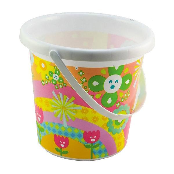 Ведерко Цветное, 18 см, ALTACTOИграем в песочнице<br>Детское ведерко Цветное, Altacto, прекрасно подойдет для игр в песочнице, его можно взять с собой на прогулку и на пляж. Игрушка выполнена в ярком привлекательном дизайне и украшена забавным цветочным рисунком, имеется удобная ручка для переноски. Ведерко вмещает в себя довольно много песка и воды, из которых можно выстроить сказочные замки и слепить куличики. Выполнено из экологически чистого и высококачественного материала, не содержащего в составе вредных красителей. <br> <br>Дополнительная информация:        <br><br>- Материал: пластик. <br>- Размер ведерка: 18 х 13 х 16 см.<br>- Вес: 83 гр.<br><br>Ведерко Цветное, 18 см., Altacto, можно купить в нашем интернет-магазине.<br>Ширина мм: 180; Глубина мм: 130; Высота мм: 160; Вес г: 83; Возраст от месяцев: 12; Возраст до месяцев: 36; Пол: Унисекс; Возраст: Детский; SKU: 4622252;
