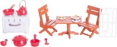Набор мебели для гостиной № 2, с аксессурами, Счастливые друзья, ABtoys
