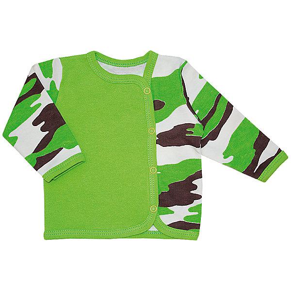 Футболка с длинным рукавом для мальчика KotMarKotКофточки и распашонки<br>Характеристики товара:<br><br>• цвет: зеленый<br>• состав ткани: 100% хлопок<br>• сезон: демисезон<br>• застежка: кнопки<br>• длинные рукава<br>• страна бренда: Россия<br>• страна изготовитель: Россия<br><br>Хлопковый детский лонгслив легко надевается благодаря кнопкам. Лонгслив для ребенка стильно смотрится. Детская футболка с длинным рукавом создает комфортные условия и удобно сидит по фигуре.<br><br>Лонгслив KotMarKot (КотМарКот) для мальчика можно купить в нашем интернет-магазине.<br>Ширина мм: 157; Глубина мм: 13; Высота мм: 119; Вес г: 200; Цвет: зеленый; Возраст от месяцев: 0; Возраст до месяцев: 1; Пол: Мужской; Возраст: Детский; Размер: 56,68,62,74,86,80; SKU: 4624076;