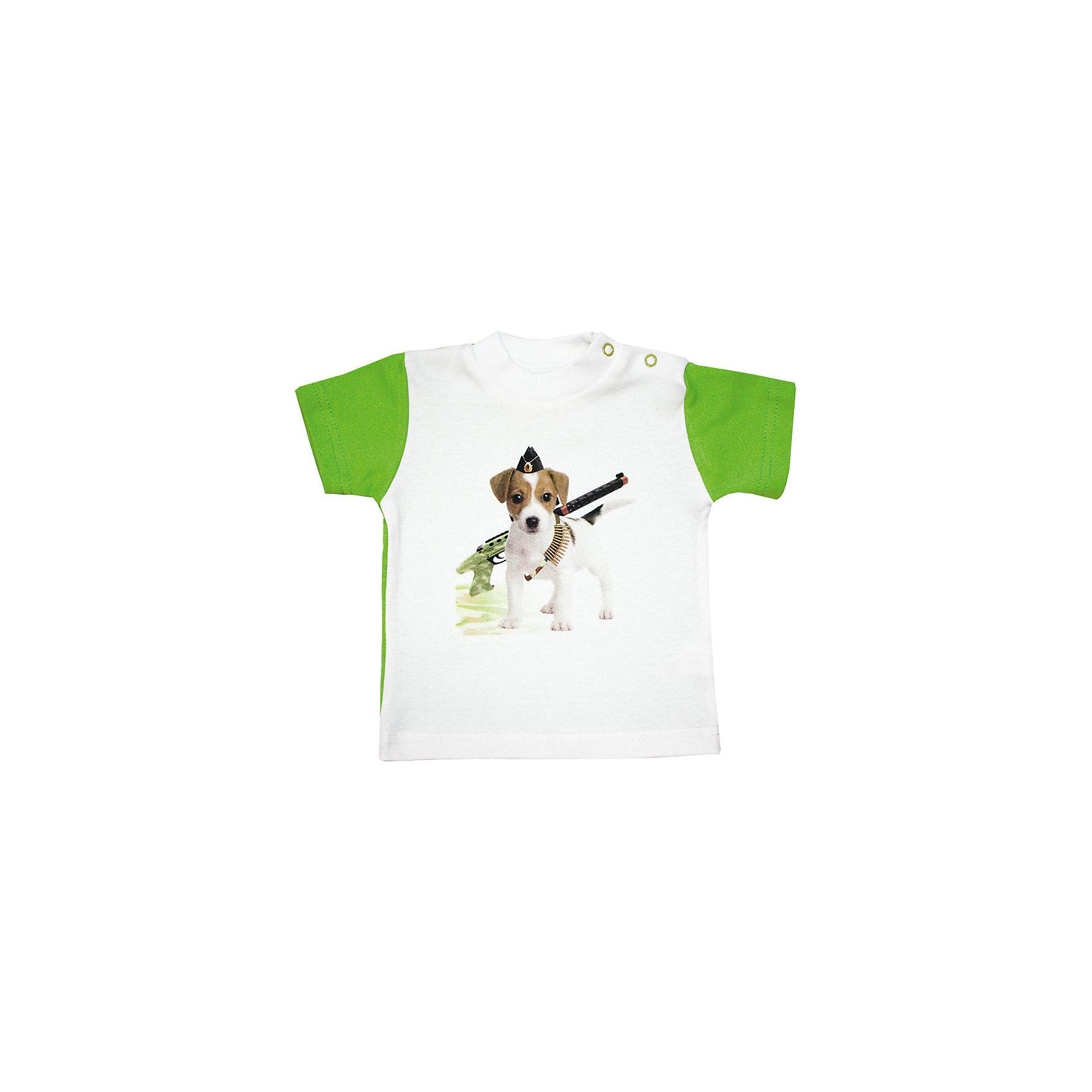 Футболка  для мальчика КотМарКот