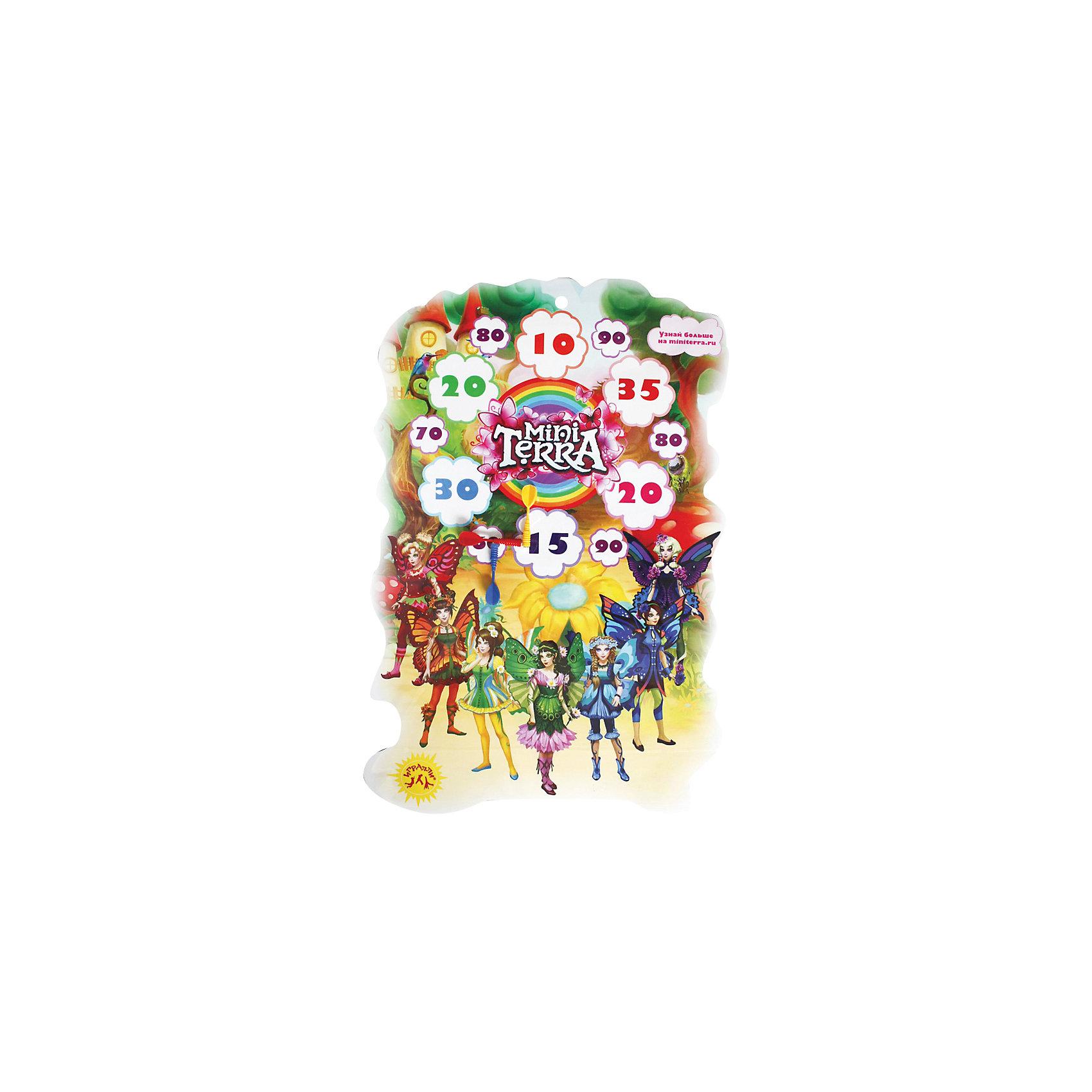 InSummer Дартс Мини-терра 58/40см, InSummer детский дартс battlefield soft 7 2cm