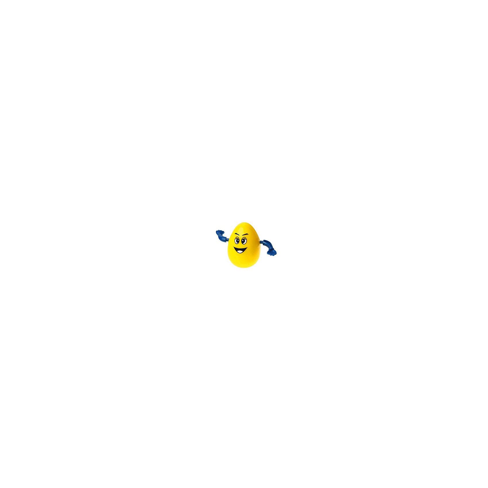 Заводная игрушка Шалтай-Болтай, InSummerЗаводная игрушка Шалтай-Болтай, InSummer<br><br>Характеристики:<br>- Состав: пластик  <br>- Размер: 9 * 5 * 7 см.<br>- Плавает в воде<br><br>Забавная заводная игрушка Шалтай-Болтай от производителя игр и товаров для детей InSummer (Инсаммер). Веселое личико этого желтого яичка заставляет улыбнуться, если завести Шалтая-Болтая, то он будет крутить своими ручками. Игрушку можно брать с собой в ванную и она будет держаться на воде. Игрушка выполнена из пластика, поэтому безопасна для воды. Озорной Шалтай-Болтай поможет развить воображение и придумать много игр как в воде, так и на суше.<br><br>Заводную игрушку Шалтай-Болтай, InSummer (Инсаммер) можно купить в нашем интернет-магазине.<br>Подробнее:<br>• Для детей в возрасте: от 3 до 8 лет <br>• Номер товара: 4624438<br>Страна производитель: Китай<br><br>Ширина мм: 50<br>Глубина мм: 70<br>Высота мм: 90<br>Вес г: 2<br>Возраст от месяцев: 36<br>Возраст до месяцев: 120<br>Пол: Унисекс<br>Возраст: Детский<br>SKU: 4624438
