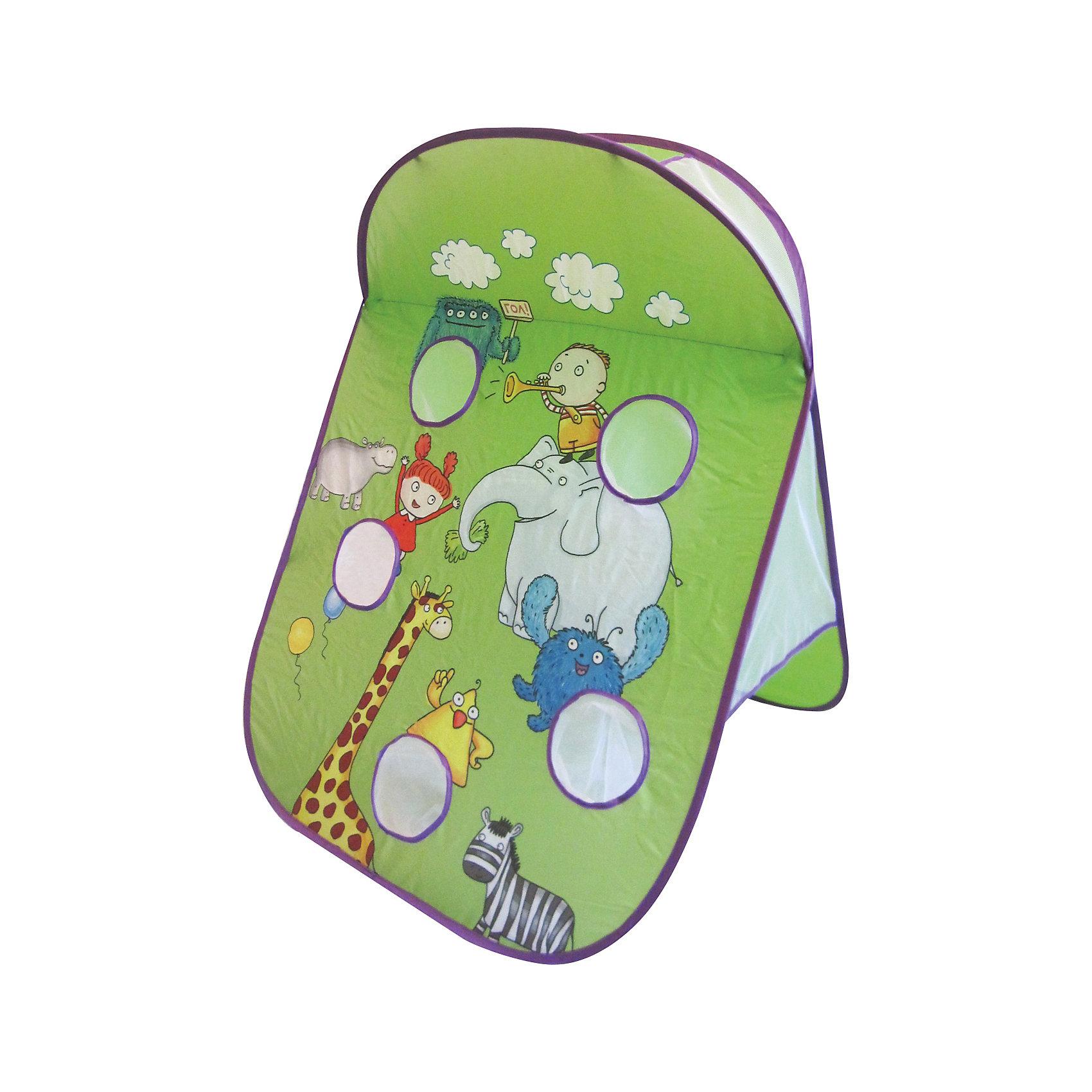Игра Криблиболл Самый умный и ловкий, InSummerИгра Криблиболл Самый умный и ловкий, InSummer<br><br>Характеристики:<br>- Состав: текстиль, металлический каркас  <br>- Размер: 65 * 75 * 90 см.<br>- Количество игроков: от 2 до 15<br><br>Игра Криблиболл Самый умный и ловкий от производителя игр и товаров для детей InSummer (Инсаммер) станет неотъемлемой частью семейных игр. Игра состоит из небольших мячиком и раскладываемого поля с лунками для шариков. Правила предлагают два варианта игры в криблиболл. Игра в «Самый умный и ловкий», где ведущий говорит прилагательное, а остальные игроки должны подобрать к нему антоним, тот, у кого получается сказать противоположное значение первым получает право на бросок мяча. Тот, кто забрасывает наибольшее количество мячей становится самым умным и ловким.  Во втором варианте игры могут участвовать два игрока. Перед каждым броском каждый игрок говорит комплимент другому игроку и получает право бросить мяч. Тот, кто забрасывает наибольшее количество мячей становится мастером комплиментов. Отличная активная игра для семейных вечеров или детских праздников.<br><br>Игру Криблиболл Самый умный и ловкий, InSummer (Инсаммер) можно купить в нашем интернет-магазине.<br>Подробнее:<br>• Для детей в возрасте: от 3 до 8 лет <br>• Номер товара: 4624440<br>Страна производитель: Китай<br><br>Ширина мм: 379<br>Глубина мм: 376<br>Высота мм: 50<br>Вес г: 478<br>Возраст от месяцев: 36<br>Возраст до месяцев: 120<br>Пол: Унисекс<br>Возраст: Детский<br>SKU: 4624440