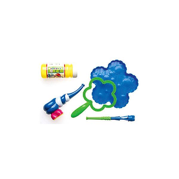 Мыльные пузыри Цветочек, InSummerМыльные пузыри<br>Набор состоит из бутылочки с мыльной жидкостью, прибора для выдувания в форме цветочка, полости для жидкости, а также нескольких дополнительных приспособлений для выдувания пузырей разного диметра. <br>Собравшись в команде, дети смогут весело провести время, надувать пузыри, дурачиться и даже надуть один пузырь внутри другого. <br><br>Дополнительная информация: <br><br>- Возраст: от 3 лет.<br>- В наборе: баночка с раствором, аксессуары.<br>- Материал: пластмасса, мыльный раствор.<br>- Размер мяча: 19 см.<br><br>Купить мыльные пузыри Цветочек от InSummer,  можно в нашем магазине.<br><br>Ширина мм: 320<br>Глубина мм: 195<br>Высота мм: 45<br>Вес г: 23<br>Возраст от месяцев: 36<br>Возраст до месяцев: 120<br>Пол: Унисекс<br>Возраст: Детский<br>SKU: 4624449
