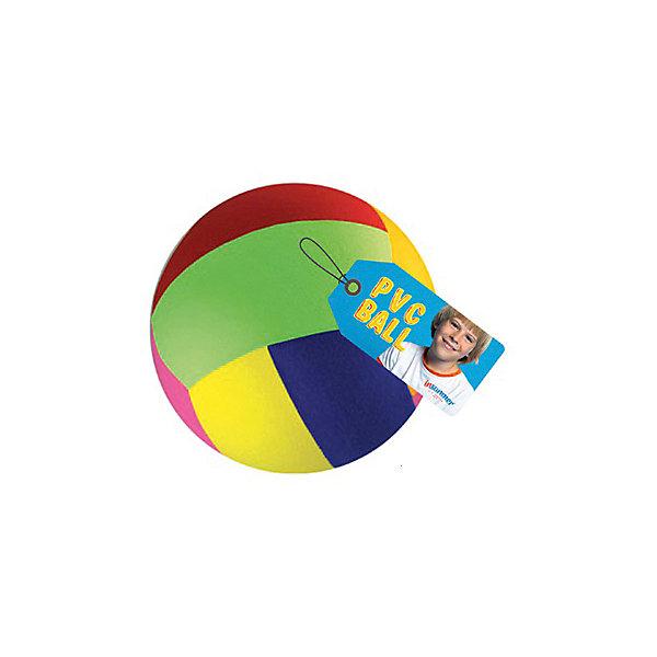 Мяч Радуга, 30см, InSummerМячи детские<br>Мяч Радуга, 30см, InSummer<br><br>Характеристики:<br>- Состав: поливинилхлорид  <br>- Размер: 30 см.<br><br>Мяч Радуга, 30см, от производителя товаров для детей InSummer (Инсаммер) станет неотъемлемой частью игр на свежем воздухе и в спортивном зале. Легкий мяч безопасен для детей и даже играя в «вышибалы» не нанесет повреждений. Яркий радужный цвет и интересный дизайн придут по вкусу как девочкам, так и мальчикам. С этим мячом можно играть в волейбол на пляже или во дворе, а также в гандбол. Можно придумать множество своих игр. Мяч не позволит детям сидеть на месте и поможет развить координацию движений, реакцию и подарит множество детских воспоминаний.<br><br>Мяч Радуга, 30см, InSummer (Инсаммер)  можно купить в нашем интернет-магазине.<br>Подробнее:<br>• Для детей в возрасте: от 3 до 10 лет <br>• Номер товара: 4624454<br>Страна производитель: Китай<br><br>Ширина мм: 300<br>Глубина мм: 100<br>Высота мм: 50<br>Вес г: 8<br>Возраст от месяцев: 36<br>Возраст до месяцев: 120<br>Пол: Унисекс<br>Возраст: Детский<br>SKU: 4624454