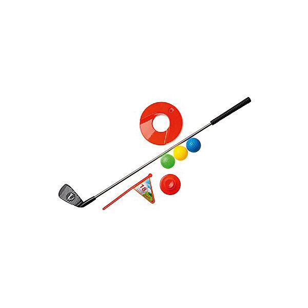 Набор для игры в гольф В лунку!, InSummerИгровые наборы<br>Гольф - очень интересная игра, в которой присутствуют дух соперничества.  В набор: клюшка, 3 мяча, лунка с флажком, подставка. Играть в эту игру можно и на свежем воздухе, и в помещении.<br>Порадуйте своего ребенка таким замечательным набором!<br><br>Дополнительная информация: <br><br>- Возраст: от 3 лет.<br>- В наборе: клюшка, 3 мяча, лунка, флажок, подставка.<br>- Материал: пластик.<br>- Размер упаковки: 20х6х70 см.<br><br>Купить набор для игры в гольф В лунку! от InSummer,  можно в нашем магазине.<br><br>Ширина мм: 600<br>Глубина мм: 130<br>Высота мм: 70<br>Вес г: 28<br>Возраст от месяцев: 36<br>Возраст до месяцев: 120<br>Пол: Унисекс<br>Возраст: Детский<br>SKU: 4624458