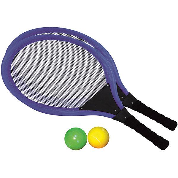 Набор для тенниса, InSummerБадминтон и теннис<br>Набор для тенниса содержит 2 ракетки и два мяча. Легкие ракетки с удобной ручкой надежно фиксируются в руке, и ребенок сможет с легкостью играть с друзьями.<br><br>Дополнительная информация:<br>Вес: 70 грамм<br>Вы можете купить набор для тенниса в нашем интернет-магазине.<br><br>Ширина мм: 548<br>Глубина мм: 290<br>Высота мм: 30<br>Вес г: 254<br>Возраст от месяцев: 36<br>Возраст до месяцев: 120<br>Пол: Унисекс<br>Возраст: Детский<br>SKU: 4624460