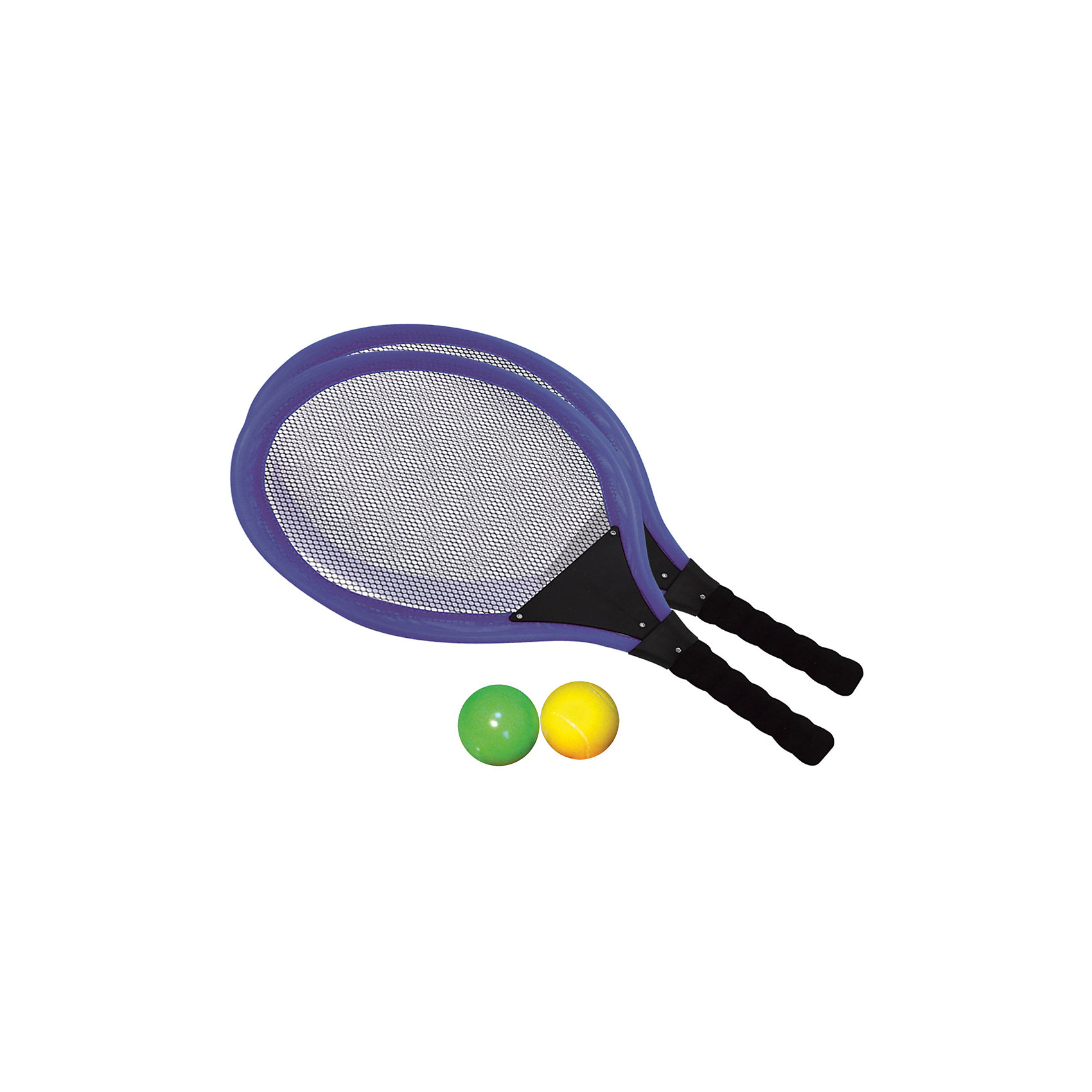 Набор для тенниса, InSummerНабор для тенниса содержит 2 ракетки и два мяча. Легкие ракетки с удобной ручкой надежно фиксируются в руке, и ребенок сможет с легкостью играть с друзьями.<br><br>Дополнительная информация:<br>Вес: 70 грамм<br>Вы можете купить набор для тенниса в нашем интернет-магазине.<br><br>Ширина мм: 548<br>Глубина мм: 290<br>Высота мм: 30<br>Вес г: 254<br>Возраст от месяцев: 36<br>Возраст до месяцев: 120<br>Пол: Унисекс<br>Возраст: Детский<br>SKU: 4624460