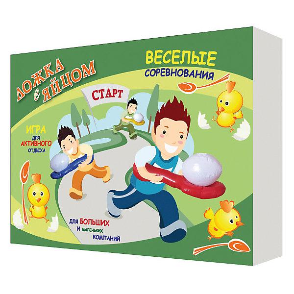 Надувная игра Ложка с яйцом, InSummerИгровые наборы<br>Надувная игра Ложка с яйцом, InSummer - игра для активного отдыха, для маленьких и больших компаний. Легко и просто надувается и сдувается, компактно убирается. Веселые соревнования можно устраивать в помещении, на улице, на даче. Отличный способ для отдыха, игры и спортивного развития.<br><br>Дополнительная информация:<br><br>Состав: надувные элементы из полимерных материалов<br><br>Надувная игра Ложка с яйцом, InSummer можно купить в нашем магазине.<br><br>Ширина мм: 9999<br>Глубина мм: 9999<br>Высота мм: 9999<br>Вес г: 278<br>Возраст от месяцев: 36<br>Возраст до месяцев: 120<br>Пол: Унисекс<br>Возраст: Детский<br>SKU: 4624462