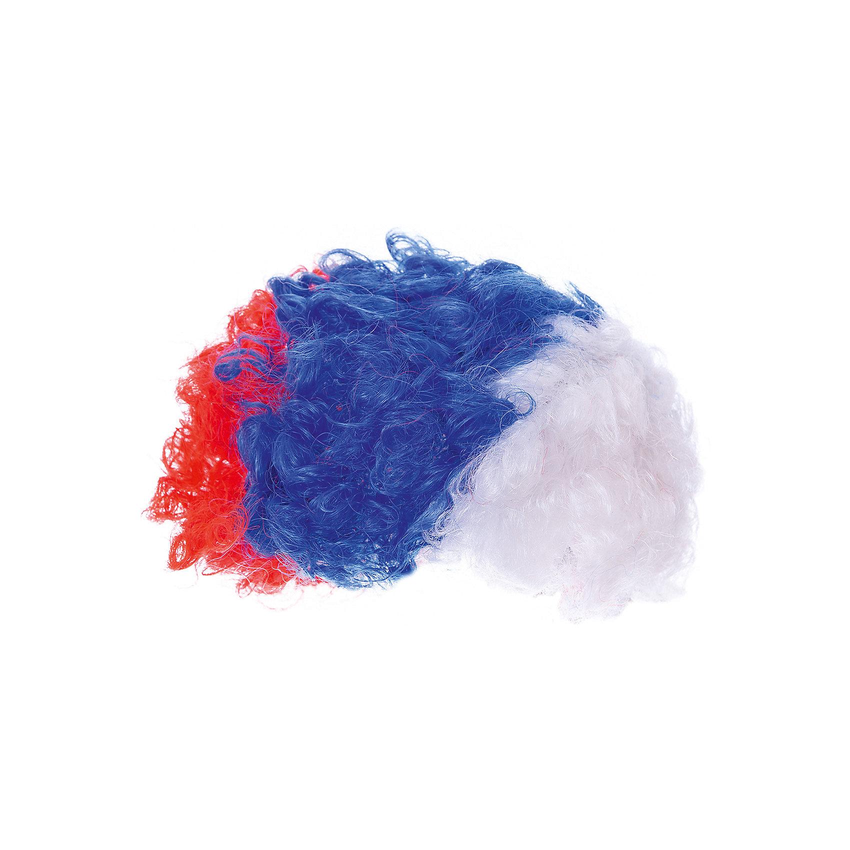 Парик Болельщик, InSummerДля мальчиков<br>Забавный парик Болельщик создан для настоящих фанатов спорта. Круглый парик с завитками имеет расцветку флага России. Подойдет на любой возраст.<br><br>Дополнительная информация:<br>Сделан из полимерных материалов<br>Размер упаковки: 23х17,5х5 см<br>Парик Болельщик можно приобрести в нашем интернет-магазине.<br><br>Ширина мм: 230<br>Глубина мм: 175<br>Высота мм: 50<br>Вес г: 330<br>Возраст от месяцев: 36<br>Возраст до месяцев: 120<br>Пол: Унисекс<br>Возраст: Детский<br>SKU: 4624465