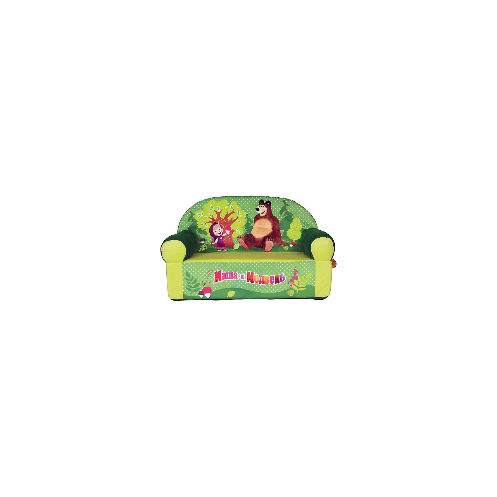 Салатовый диван «Маша и Медведь»  тумбочка под раковину 50 50