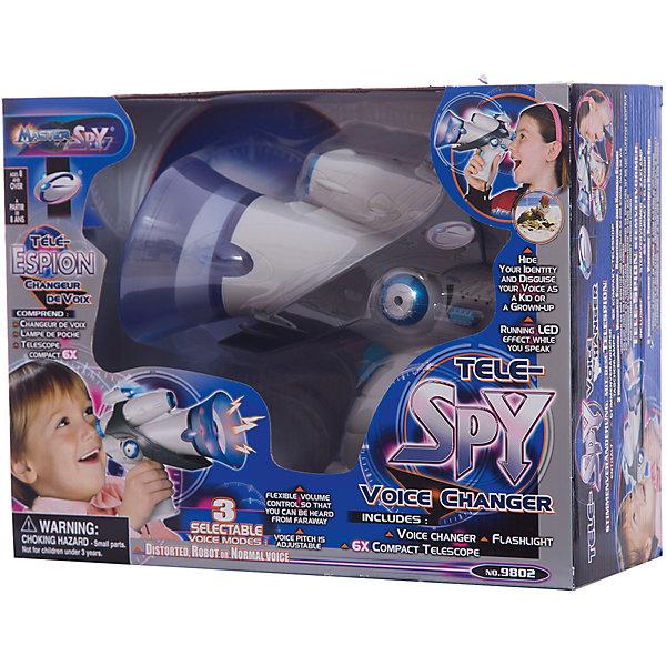 Многофункциональное шпионское устройство, EastcolightНаборы шпиона<br>Многофункциональное шпионское устройство, Eastcolight - оригинальный подарок, который обязательно порадует юного суперагента. Комплект включает в себя все необходимое оборудование, которое должен иметь каждый настоящий шпион: громкоговоритель, телескоп с 6х - кратным увеличением, фонарь, который незаменим для слежки в темноте. Все предметы соединяются друг с другом в виде единой конструкции, которую удобно всюду носить с собой. Громкоговоритель умеет изменять голос и работает в трех режимах (искаженный голос, робот и обычный), громкость регулируется. Компактный легкий телескоп с ахроматическим асферическим объективом позволяет вести наблюдение за окружающим миром и способен увеличивать удаленные предметы в радиусе от 50 до 500 метров. Все предметы выполнены из качественных, прочных и износоустойчивых материалов. Набор способствует развитию воображения, наблюдательности, сообразительности и внимательности.<br><br>Дополнительная информация:<br><br>- В комплекте: громкоговоритель, телескоп с 6-кратным увеличением, фонарик, инструкция.<br>- Материал: пластик, стекло.<br>- Требуются батарейки: 1 х 9V, 2 х SR54 (в комплект не входит).<br>- Размер устройства: 20 х 10 х 18,5 см.<br>- Размер упаковки: 22 х 7 х 9 см.<br>- Вес: 0,32 кг.<br><br>Многофункциональное шпионское устройство, Eastcolight, можно купить в нашем интернет-магазине.<br>Ширина мм: 318; Глубина мм: 244; Высота мм: 123; Вес г: 710; Возраст от месяцев: 60; Возраст до месяцев: 180; Пол: Унисекс; Возраст: Детский; SKU: 4627934;