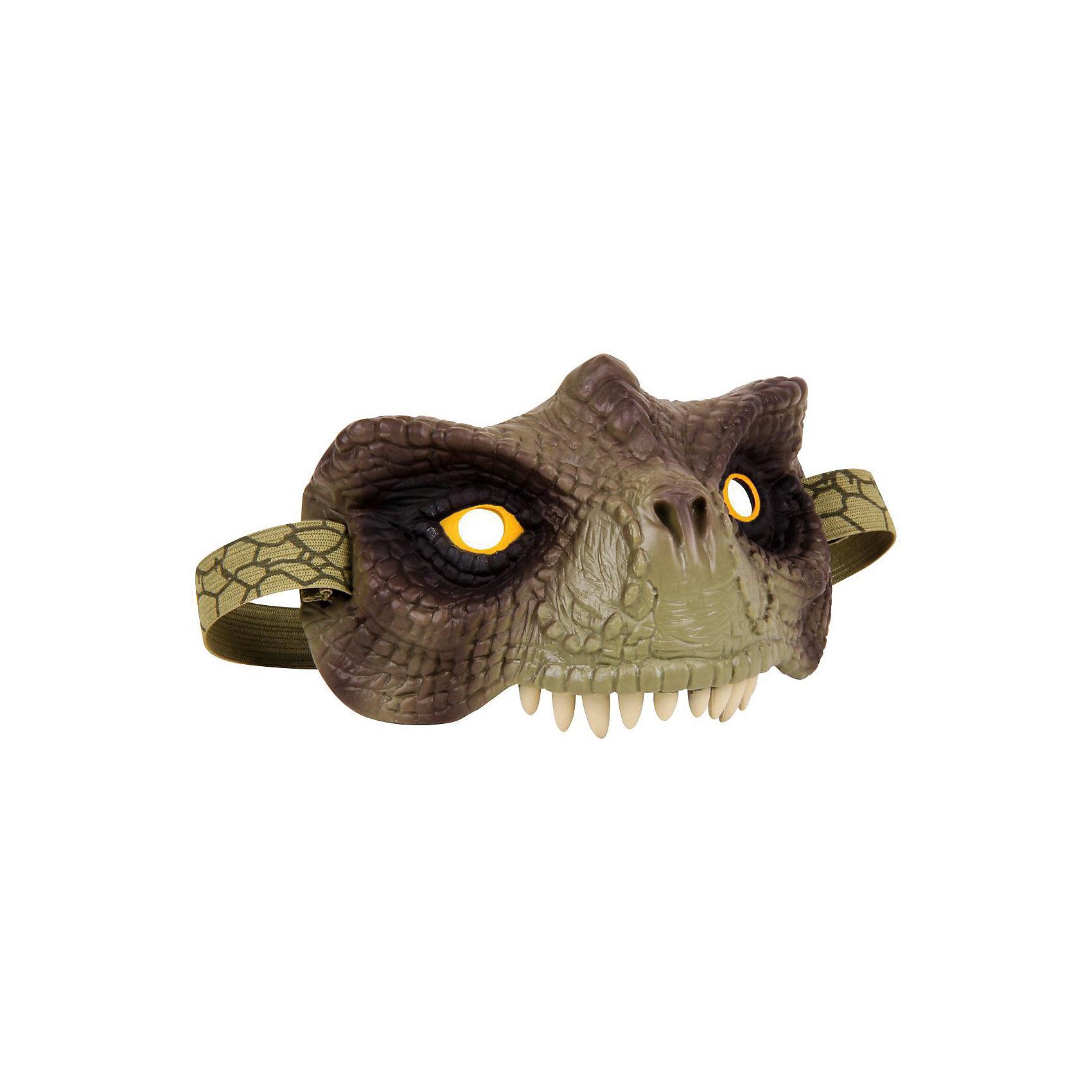 Очки Глаза Динозавра, Uncle MiltonОчки Глаза Динозавра, Uncle Milton, вызовут восторг у всех юных любителей доисторических ящеров. Очки выполнены в виде морды динозавра и могут использоваться как маска или аксессуар для увлекательной игры. Игрушка из безопасной резины обладает тщательно проработанным дизайном, структура поверхности имитирует кожу динозавра. Очки фиксируются с помощью мягкого регулируемого ремешка, имеются прорези для глаз.<br><br>Дополнительная информация:<br><br>- Материал: резина, пластик. <br>- Размер упаковки: 15,2 х 11,4 х 25,4 см <br>- Вес: 140 гр.<br><br>Очки Глаза Динозавра, Uncle Milton, можно купить в нашем интернет-магазине.<br><br>Ширина мм: 150<br>Глубина мм: 130<br>Высота мм: 355<br>Вес г: 140<br>Возраст от месяцев: 60<br>Возраст до месяцев: 180<br>Пол: Унисекс<br>Возраст: Детский<br>SKU: 4627940