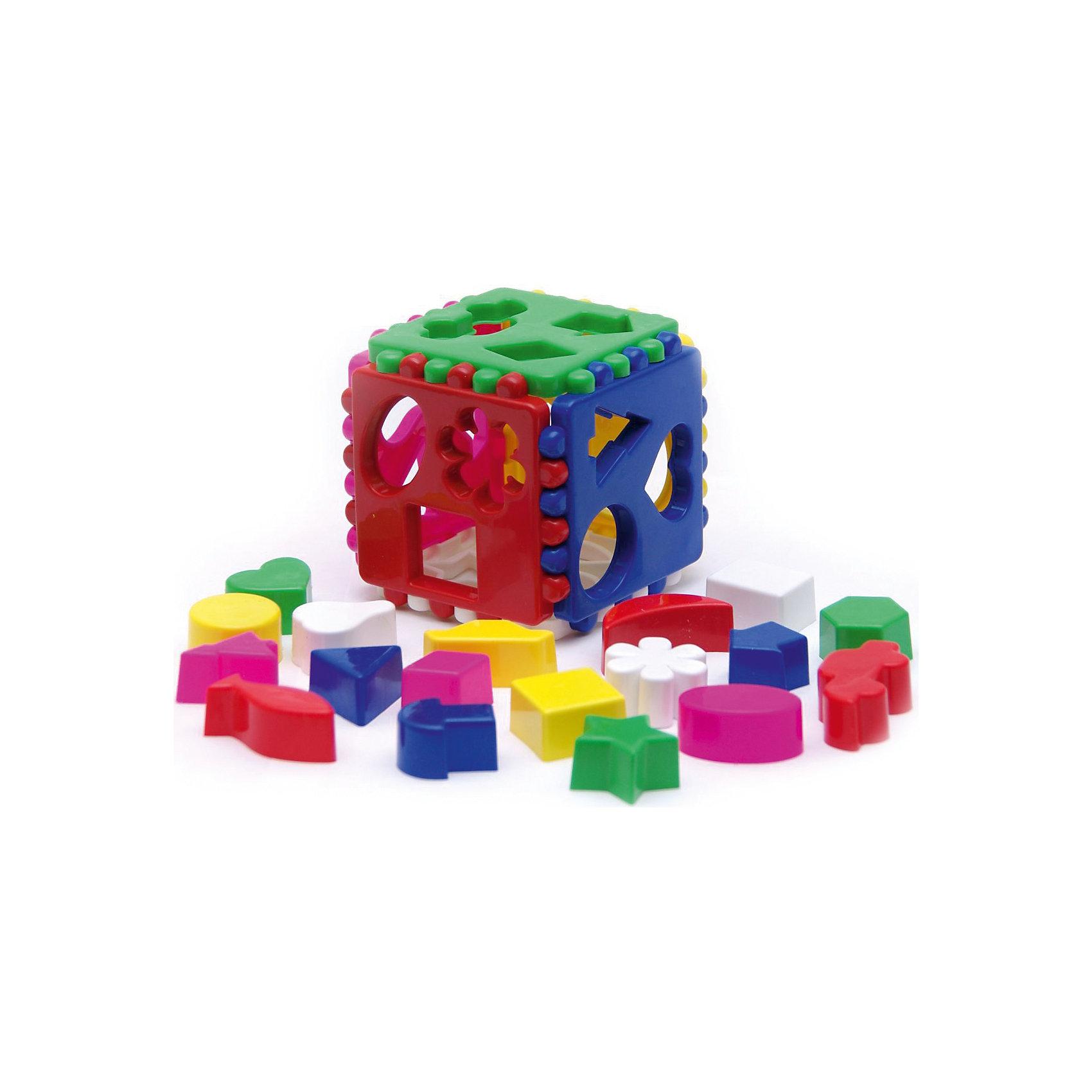 Игрушка Логический кубик, Karolina ToysЛогический кубик, Karolina Toys - яркая развивающая игрушка, которая обязательно привлечет внимание Вашего малыша. Игрушка выполнена в виде красочного кубика с разноцветными гранями, на каждой грани отверстия разных форм (кружки, елочки, треугольники, квадраты и другие), в которые малышу предлагается вставлять соответствующие им фигурки. Игрушка выполнена из высококачественного экологичного материала. Прекрасно развивает у ребенка логическое мышление и световосприятие, знакомит с цветами и формами, тренирует мелкую моторику.<br><br>Дополнительная информация:<br><br>- В комплекте: кубик, 18 фигурок.<br>- Материал: пластик. <br>- Размер игрушки: 11,5 х 11,5 х 11,5 см.<br>- Вес: 0,3 кг.<br><br>Игрушку Логический кубик, Karolina Toys, можно купить в нашем интернет-магазине.<br><br>Ширина мм: 115<br>Глубина мм: 115<br>Высота мм: 115<br>Вес г: 220<br>Возраст от месяцев: 12<br>Возраст до месяцев: 60<br>Пол: Унисекс<br>Возраст: Детский<br>SKU: 4627945