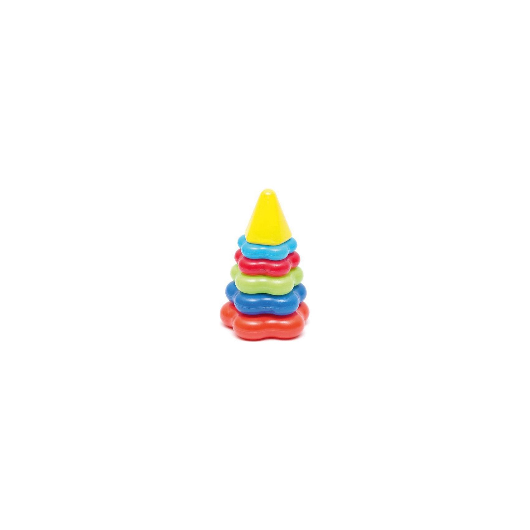 Пирамида, Karolina ToysПирамидки<br>Пирамида, Karolina Toys - традиционная пирамидка в ярком красочном исполнении непременно понравится Вашему малышу. Пирамидка состоит из стержня, пяти колечек в форме звездочек разного размера и верхушки. Пластиковые колечки с безопасными закругленными краями удобно держать в маленьких ручках и легко нанизывать на основание пирамидки. Игрушка выполнена из высококачественного экологичного материала. Прекрасно развивает логическое мышление, сообразительность, цветовосприятие и мелкую моторику рук.<br>                         <br>Дополнительная информация:<br><br>- Материал: пластик. <br>- Высота пирамидки: 17 см.<br>- Размер упаковки: 17 х 10 х 10 см.<br>- Вес: 110 гр.<br><br>Пирамиду, Karolina Toys, можно купить в нашем интернет-магазине.<br><br>Ширина мм: 105<br>Глубина мм: 170<br>Высота мм: 105<br>Вес г: 80<br>Возраст от месяцев: 12<br>Возраст до месяцев: 60<br>Пол: Унисекс<br>Возраст: Детский<br>SKU: 4627946