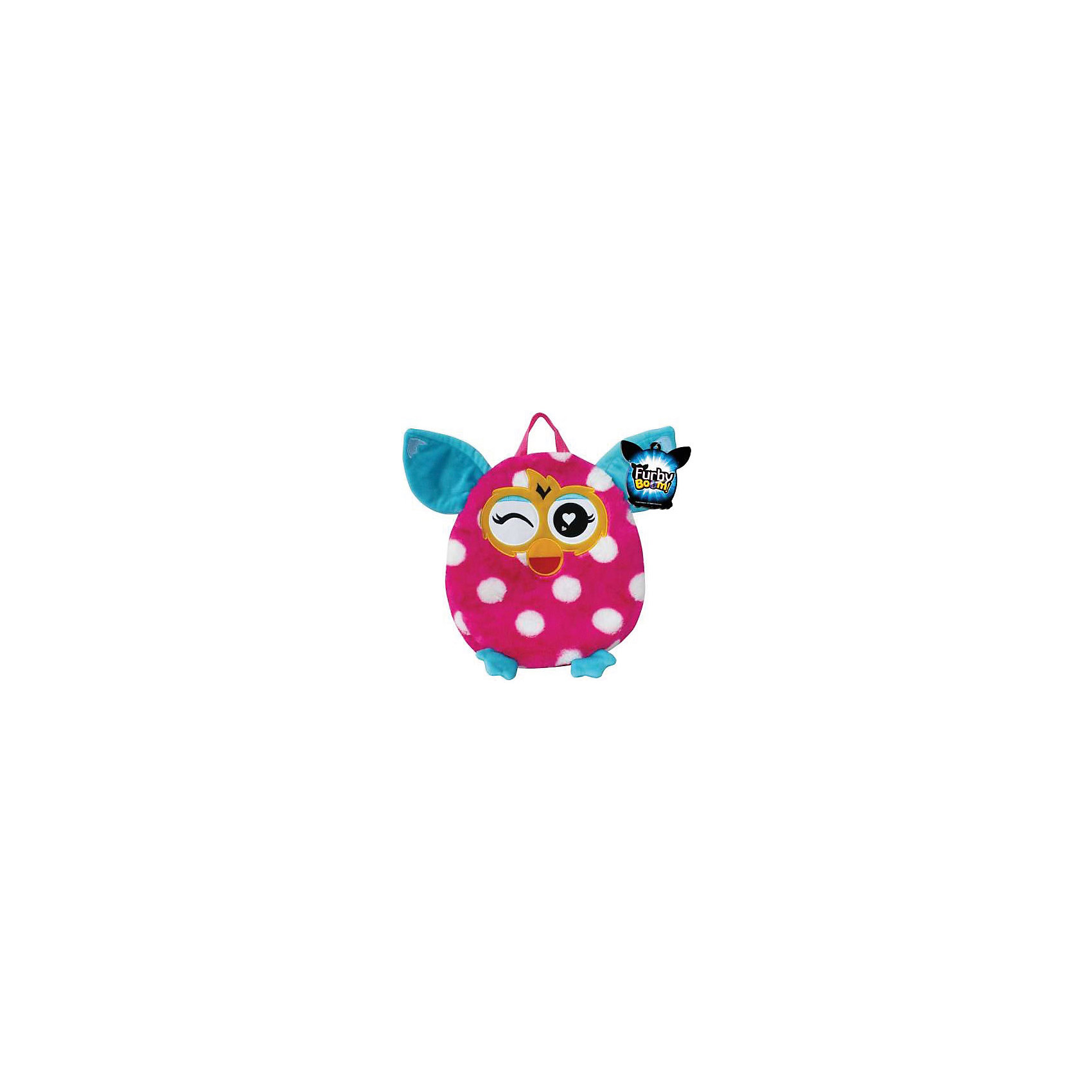 - Furby рюкзак 35 см, в горошек, 1Toy furby рюкзак 35 см в полоску 1toy