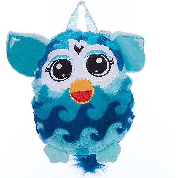 Furby рюкзак 35 см, волна, 1ToyFurby<br>Чудесный плюшевый рюкзачок Furby никого не оставит равнодушным. Он замечательно подойдет для прогулок, поездок и путешествий, а также в качестве забавной мягкой игрушки. Рюкзак выполнен в виде очаровательного Ферби и его внешний вид абсолютно идентичен популярной интерактивной игрушке. У Ферби яркая сине-голубая расцветка с узором в виде волны, бирюзовые ушки и лапки. Качественный плюшевый материал рюкзачка очень мягкий и приятный на ощупь. Внутри одно вместительное отделение, куда ребенок сможет положить все необходимые на прогулке вещи. Рюкзак оснащен удобной текстильной ручкой для переноски в руках. <br><br>Дополнительная информация:<br><br>- Материал: плюш (хентег).  <br>- Длина рюкзака: 35 см.<br>- Общие размеры: 35 х 28 х 3 см.<br>- Вес: 181 гр.<br><br>Furby рюкзак 35 см., волна, 1Toy, можно купить в нашем интернет-магазине.<br><br>Ширина мм: 350<br>Глубина мм: 280<br>Высота мм: 30<br>Вес г: 181<br>Возраст от месяцев: 24<br>Возраст до месяцев: 60<br>Пол: Унисекс<br>Возраст: Детский<br>SKU: 4627949