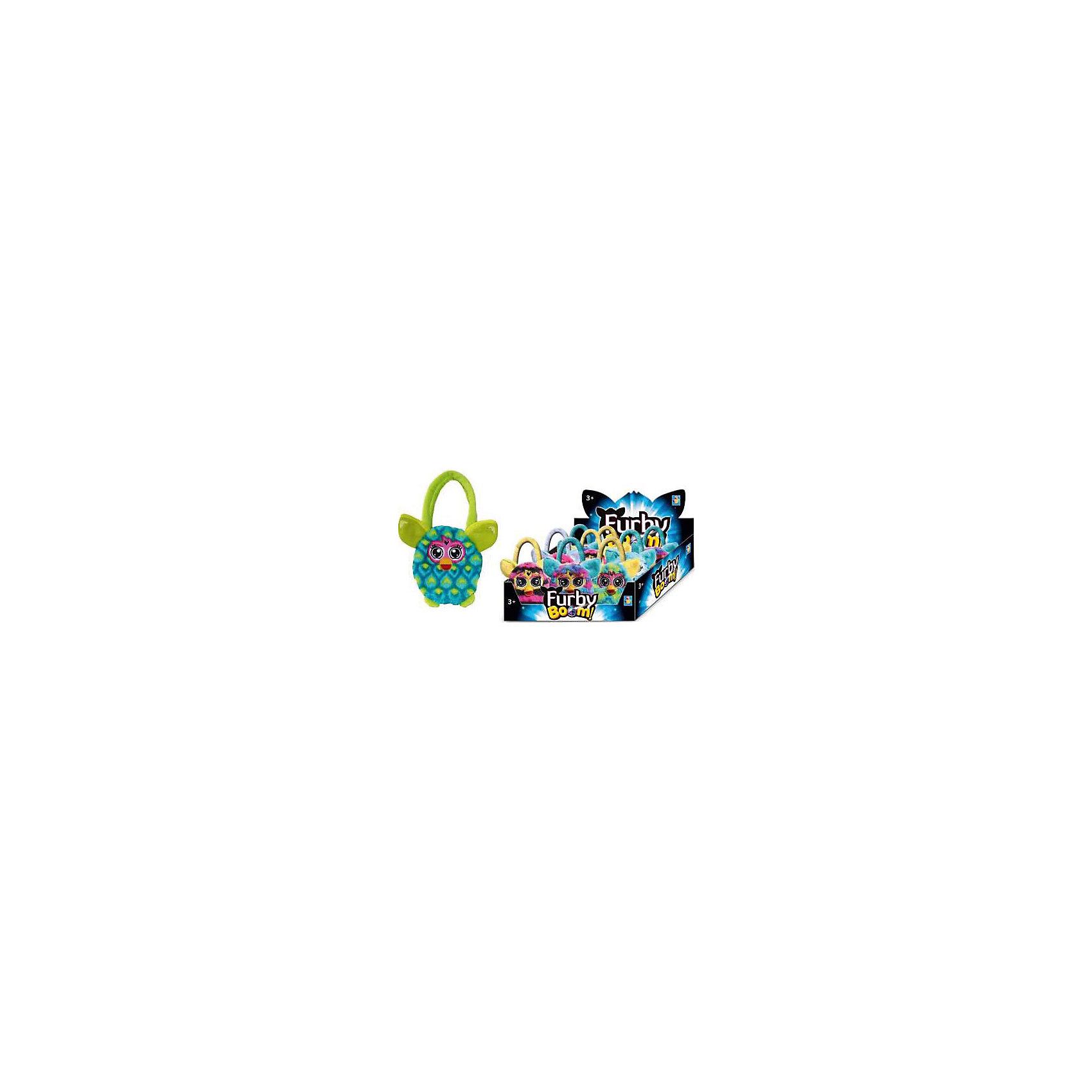 - Furby сумочка 12 см, павлин, 1Toy игрушка 1toy подушка furby сердце т57474