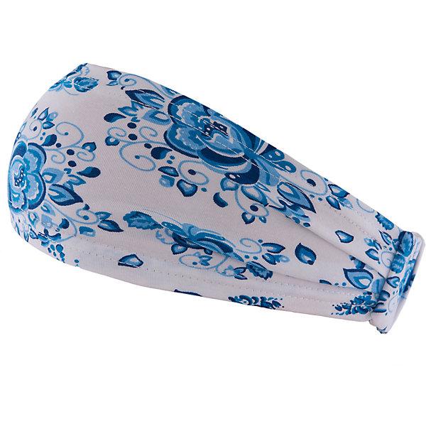 Повязка для девочки АпрельГоловные уборы<br>Красивая повязка на голову из мягкого хлопка. Приятная на ощупь, не сковывает движения, обеспечивая наибольший комфорт. Изделие хорошо фиксируется на голове ребенка, украшено дизайнерской набивкой в виде традиционного гжельского цветочка. Отличный вариант для ежедневного использования! Состав: 92% хлопок, 8% лайкра<br>Ширина мм: 89; Глубина мм: 117; Высота мм: 44; Вес г: 155; Цвет: голубой; Возраст от месяцев: 12; Возраст до месяцев: 24; Пол: Женский; Возраст: Детский; Размер: 48,54,50,52; SKU: 4630371;