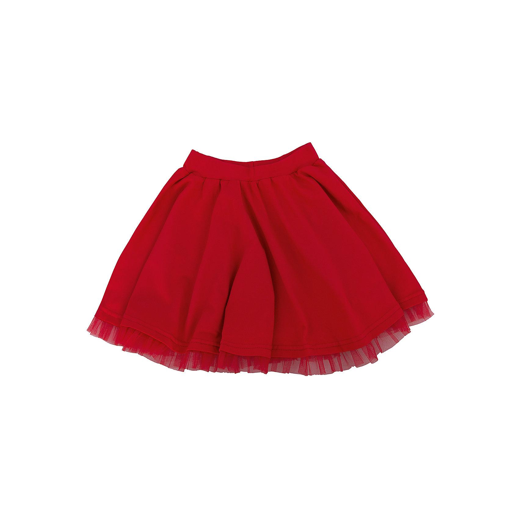 Юбка АпрельПрекрасная летняя юбочка для девочки. Юбка для девочки  из коллекции Маки от торговой марки Апрель , состоит из экологически чистых материалов. Приятная на ощупь ткань исключит риск возникновения аллергии или раздражения при соприкосновении с нежной детской кожей. Простота в уходе делает изделие отличным вариантом для повседневного гардероба ребёнка. Дети очень активны и подвижны, а благодаря современным лекалам, используемым при производстве модели, Ваше чадо будет свободно двигаться и принимать активное участие в играх. Новейшее оборудование на производстве обеспечивает надёжность шва и длительный срок службы одежды.<br><br>Дополнительная информация: <br><br>- цвет: красный<br>- состав: хлопок 95%,лайкра 5%<br>- фактура материала: трикотажный<br>- тип карманов: без карманов<br>- по назначению: повседневный стиль<br>- сезон: лето<br>- пол: девочки<br>- фирма-производитель: Апрель<br>- страна производитель: Россия<br>- комплектация: юбка<br><br>Юбку для девочки  из коллекции Маки от торговой марки Апрель можно купить в нашем интернет-магазине.<br><br>Ширина мм: 207<br>Глубина мм: 10<br>Высота мм: 189<br>Вес г: 183<br>Цвет: красный<br>Возраст от месяцев: 60<br>Возраст до месяцев: 72<br>Пол: Женский<br>Возраст: Детский<br>Размер: 122,110,140,128,116,146,134<br>SKU: 4630804