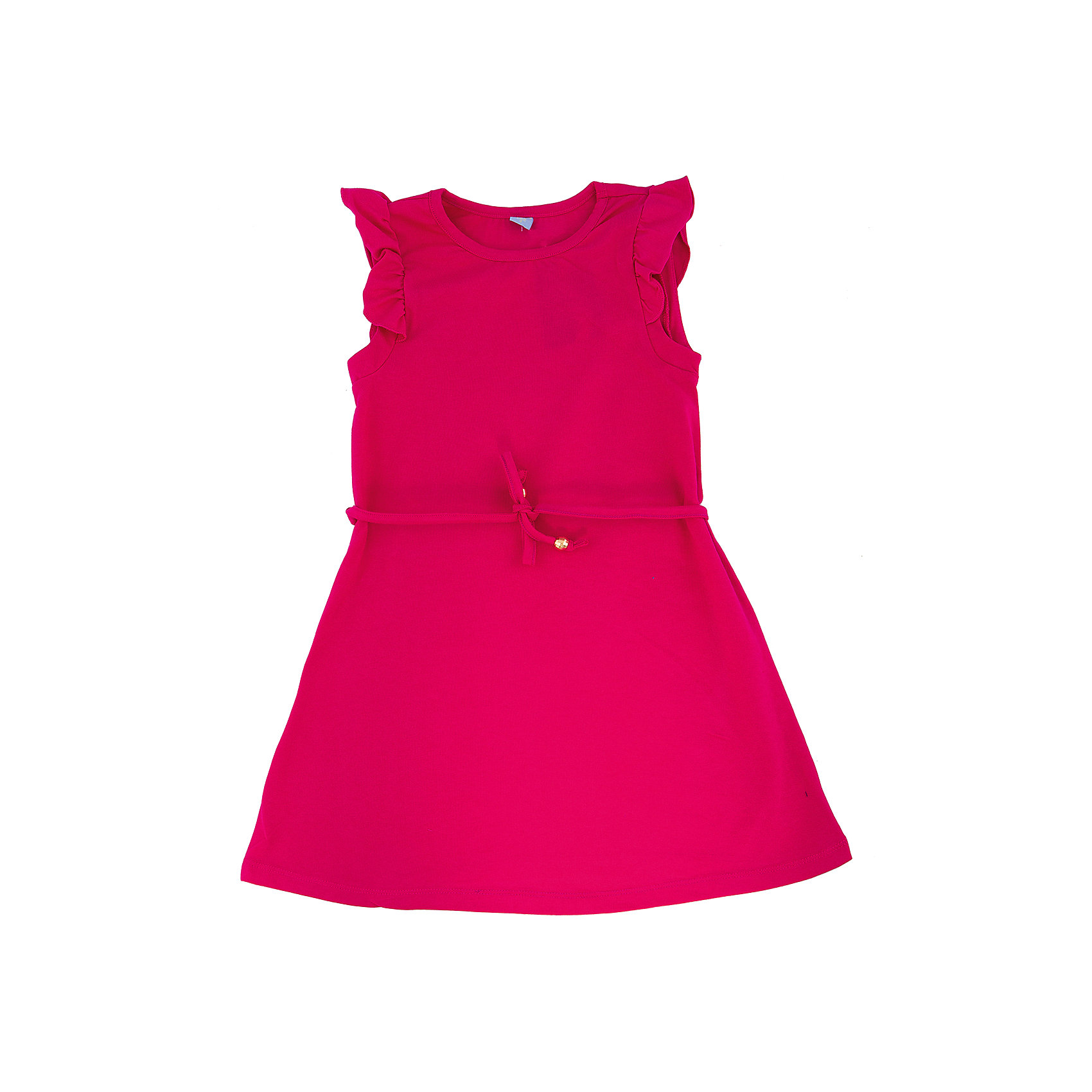 Платье для девочки DAUBERПлатье для девочки с коротким рукавом из высококачественного хлопка с  лайкрой.  Состав:95%хлопок 5%лайкра<br><br>Ширина мм: 236<br>Глубина мм: 16<br>Высота мм: 184<br>Вес г: 177<br>Цвет: розовый<br>Возраст от месяцев: 144<br>Возраст до месяцев: 156<br>Пол: Женский<br>Возраст: Детский<br>Размер: 158,122,146,134,128,140,152,164<br>SKU: 4631022