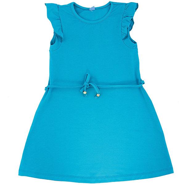 Платье для девочки DAUBERПлатья и сарафаны<br>Платье для девочки с коротким рукавом из высококачественного хлопка с  лайкрой.  Состав:95%хлопок 5%лайкра<br><br>Ширина мм: 236<br>Глубина мм: 16<br>Высота мм: 184<br>Вес г: 177<br>Цвет: бирюзовый<br>Возраст от месяцев: 132<br>Возраст до месяцев: 144<br>Пол: Женский<br>Возраст: Детский<br>Размер: 152,164,146,134,128,122,140,158<br>SKU: 4631031