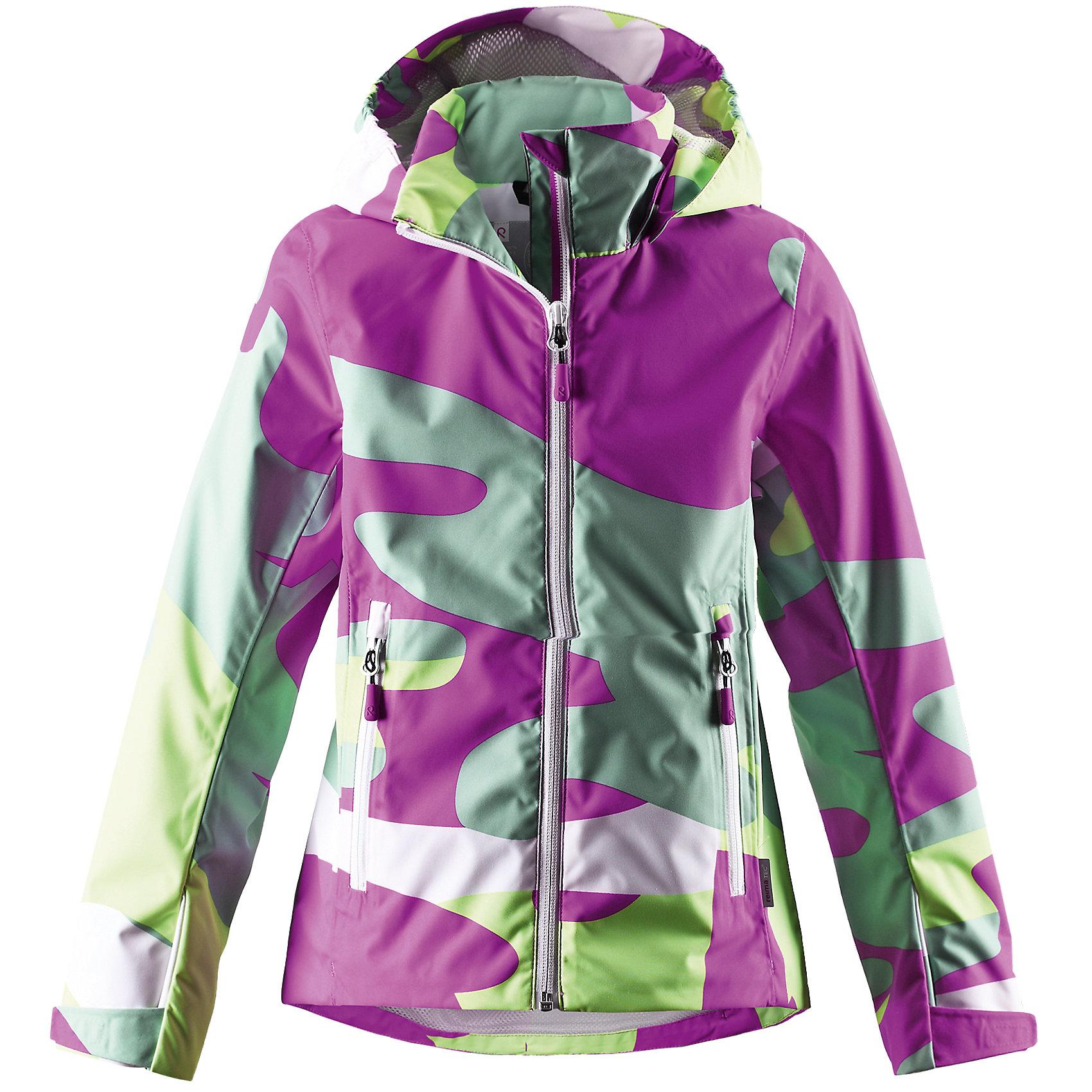 Куртка для девочки Reimatec ReimaКуртка Reimatec от финской марки Reima.<br>*Куртка демисезонная для подростков*Все швы проклеены и водонепроницаемы*Водо- и ветронепроницаемый, «дышащий» и грязеотталкивающий материал*Подкладка из mesh-сетки*Безопасный, отстегивающийся и регулируемый капюшон*Регулируемые манжеты и подол*Карманы на молнии<br>Состав:<br>100% ПЭ, ПУ-покрытие<br><br>Ширина мм: 356<br>Глубина мм: 10<br>Высота мм: 245<br>Вес г: 519<br>Цвет: фуксия<br>Возраст от месяцев: 96<br>Возраст до месяцев: 108<br>Пол: Женский<br>Возраст: Детский<br>Размер: 134,164,146,158,140,152<br>SKU: 4631520
