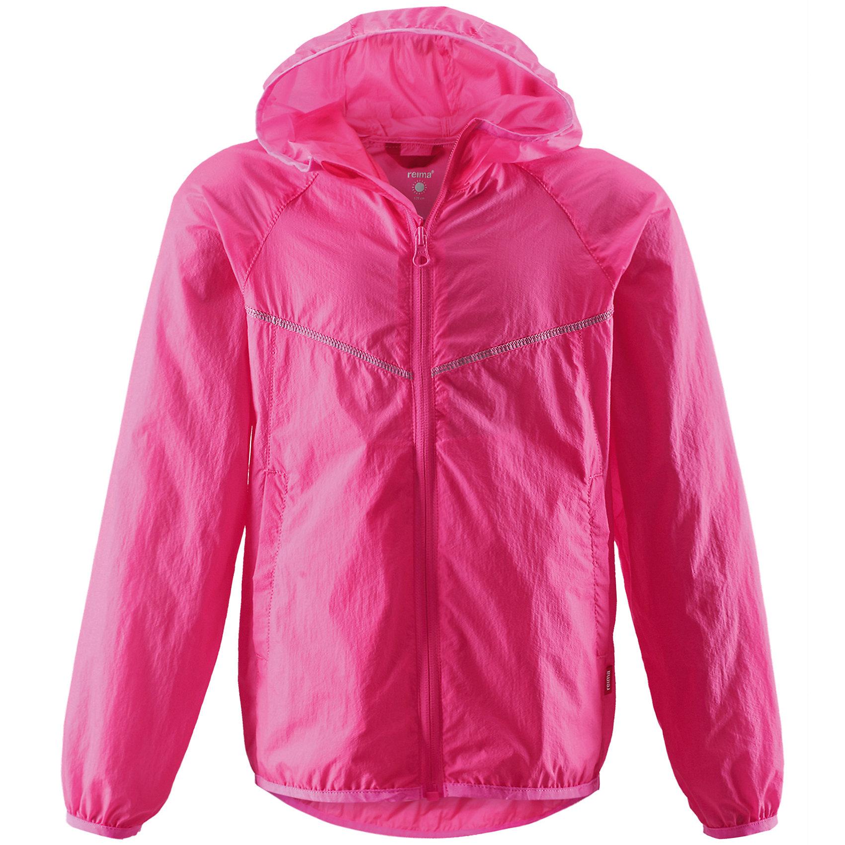 Куртка для девочки ReimaКуртка от финской марки Reima.<br>*Куртка для подростков*Облегченный материал!*Эластичная резинка на кромке капюшона, манжетах и подоле*Возможность сложить куртку в ее собственный карман*Два боковых кармана<br>Состав:<br>100% ПА<br><br>Ширина мм: 356<br>Глубина мм: 10<br>Высота мм: 245<br>Вес г: 519<br>Цвет: розовый<br>Возраст от месяцев: 108<br>Возраст до месяцев: 120<br>Пол: Женский<br>Возраст: Детский<br>Размер: 140,110,128,104,116,122,134<br>SKU: 4631541