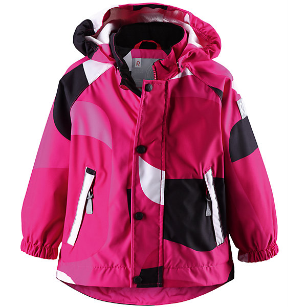 Куртка для девочки Reimatec ReimaВерхняя одежда<br>* Непромокаемая демисезонная куртка для малышей<br>* Все швы проклеены для создания водонепроницаемости<br>* Безопасный, отстегивающийся капюшон<br>* Подкладка из сетки mesh<br>* Два кармана на молнии<br>* Светоотражающие детали<br><br>Состав:<br>100% ПЭ, ПУ-покрытие<br><br>Куртку для девочки Reimatec Reima (Рейма) можно купить в нашем магазине.<br>Ширина мм: 356; Глубина мм: 10; Высота мм: 245; Вес г: 519; Цвет: розовый; Возраст от месяцев: 12; Возраст до месяцев: 18; Пол: Женский; Возраст: Детский; Размер: 86,92; SKU: 4632575;