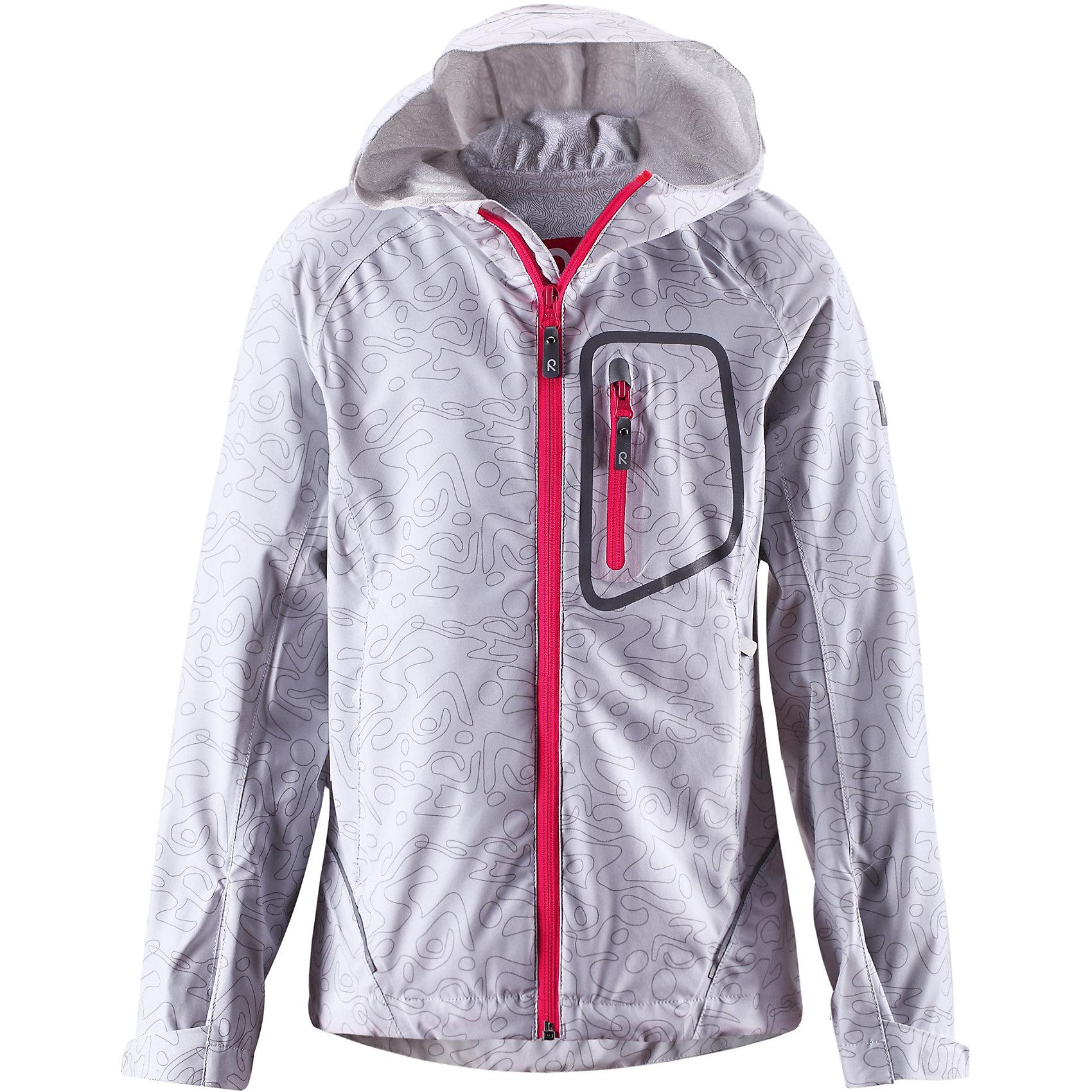Куртка ReimaКуртка Reima (Рейма), белый от известного финского производителя  детской одежды Reima. Куртка-ветровка выполнена из полиэстера с добавлением эластана, что обеспечивает воздухопроницаемость, защиту от ветра и эластичность изделия. Изделие устойчиво к изменению формы и цвета даже при длительном использовании. Куртка имеет классическую форму: прямой, чуть приталенный, силуэт с  удлиненной спинкой,  на груди имеется карман на застежке-молнии, манжеты рукавов регулируются. Все швы изделия проклеенные, что обеспечивает дополнительную защиту от влаги. Куртка идеально подходит не только для весенних и осенних прогулок, но и для прохладной летней погоды.<br><br>Дополнительная информация:<br><br>- Предназначение: повседневная одежда для прогулок и активного отдыха<br>- Цвет: белый<br>- Пол: для девочки<br>- Состав: 92% полиэстер, 8% эластан<br>- Сезон: весна-осень (демисезонная)<br>- Особенности ухода: стирать изделие, предварительно вывернув его на левую сторону, не использовать отбеливающие вещества<br><br>Подробнее:<br><br>• Для детей в возрасте: от 7 лет и до 8 лет<br>• Страна производитель: Китай<br>• Торговый бренд: Reima, Финляндия<br><br>Куртку Reima (Рейма), белый можно купить в нашем интернет-магазине.<br><br>Ширина мм: 356<br>Глубина мм: 10<br>Высота мм: 245<br>Вес г: 519<br>Цвет: белый<br>Возраст от месяцев: 84<br>Возраст до месяцев: 96<br>Пол: Унисекс<br>Возраст: Детский<br>Размер: 128,152<br>SKU: 4632618