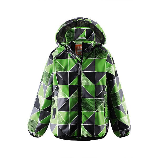 Куртка Lassietec LASSIEОдежда<br>Куртка от финской марки LASSIE.<br>Состав:<br>100% ПЭ, ПУ-покрытие<br><br>Ширина мм: 356<br>Глубина мм: 10<br>Высота мм: 245<br>Вес г: 519<br>Цвет: зеленый<br>Возраст от месяцев: 72<br>Возраст до месяцев: 84<br>Пол: Унисекс<br>Возраст: Детский<br>Размер: 122,134,92,140,98,104,110,116,128<br>SKU: 4632686