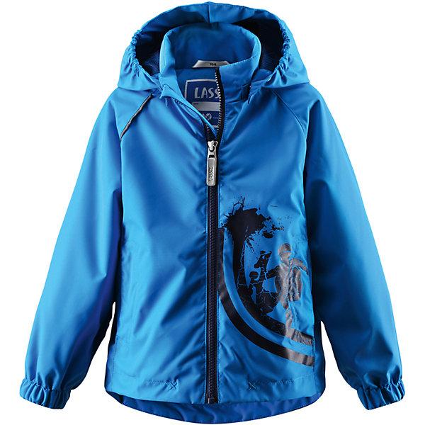 Куртка LASSIE by ReimaВерхняя одежда<br>Куртка LASSIE by Reima (Лесси от Рейма), голубой от известного финского производителя  детской одежды Reima. Демисезонная куртка выполнена из полиэстера, который обладает высокой износоустойчивостью, воздухопроницаемыми, водооталкивающими и грязеотталкивающими свойствами. Изделие устойчиво к изменению формы и цвета даже при длительном использовании. Куртка имеет классическую форму: прямой силуэт с удлиненной спинкой, воротник-стойка, застежка-молния с защитой у подбородка, капюшон и рукава на резинках и 2 боковых прорезных кармана. Куртка имеет полиуретановое покрытие, что делает ее непромокаемой даже в дождливую погоду. Изделие выполнено в ярком дизайне: голубой цвет, на боковой полочке спереди имеется принт.   <br><br>Дополнительная информация:<br><br>- Предназначение: повседневная одежда для прогулок и активного отдыха<br>- Цвет: голубой<br>- Пол: для мальчика<br>- Состав: 100% полиэстер, полиуретановое покрытие<br>- Сезон: весна-осень (демисезонная)<br>- Особенности ухода: стирать изделие, предварительно вывернув его на левую сторону, не использовать отбеливающие вещества<br><br>Подробнее:<br><br>• Для детей в возрасте: от 6 лет и до 7 лет<br>• Страна производитель: Китай<br>• Торговый бренд: Reima, Финляндия<br><br>Куртку LASSIE by Reima (Лесси от Рейма), голубой можно купить в нашем интернет-магазине.<br>Ширина мм: 356; Глубина мм: 10; Высота мм: 245; Вес г: 519; Цвет: голубой; Возраст от месяцев: 60; Возраст до месяцев: 72; Пол: Унисекс; Возраст: Детский; Размер: 116,122,110,98,104,128,134; SKU: 4632701;