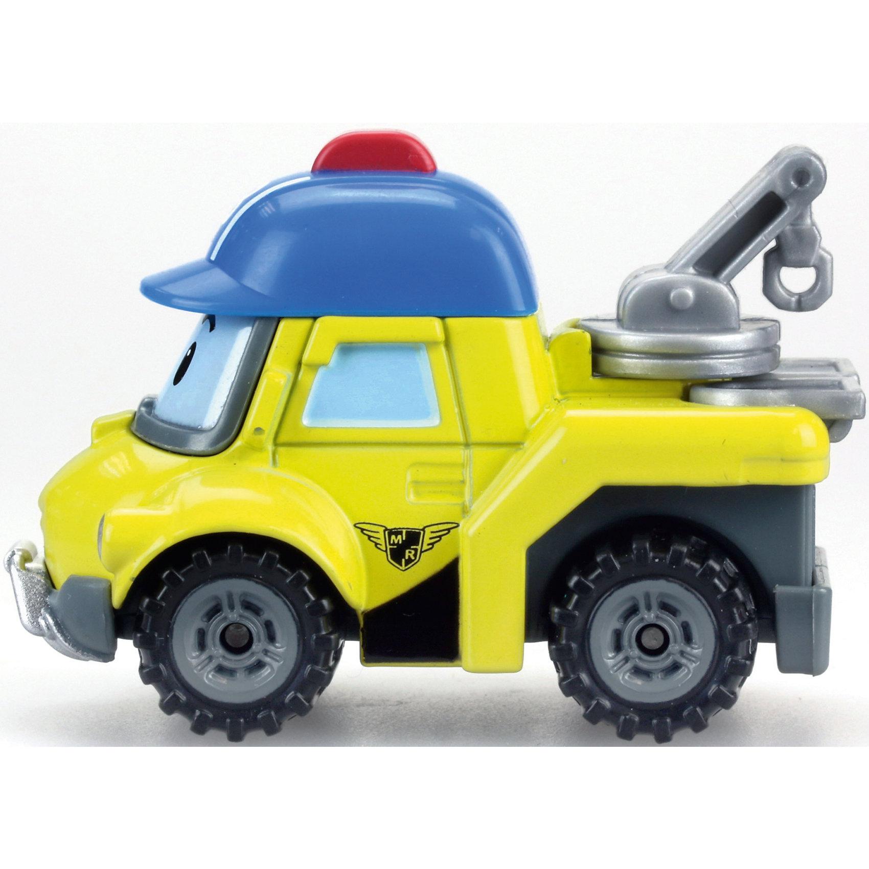 Металлическая машинка Баки, 6см, Робокар поли
