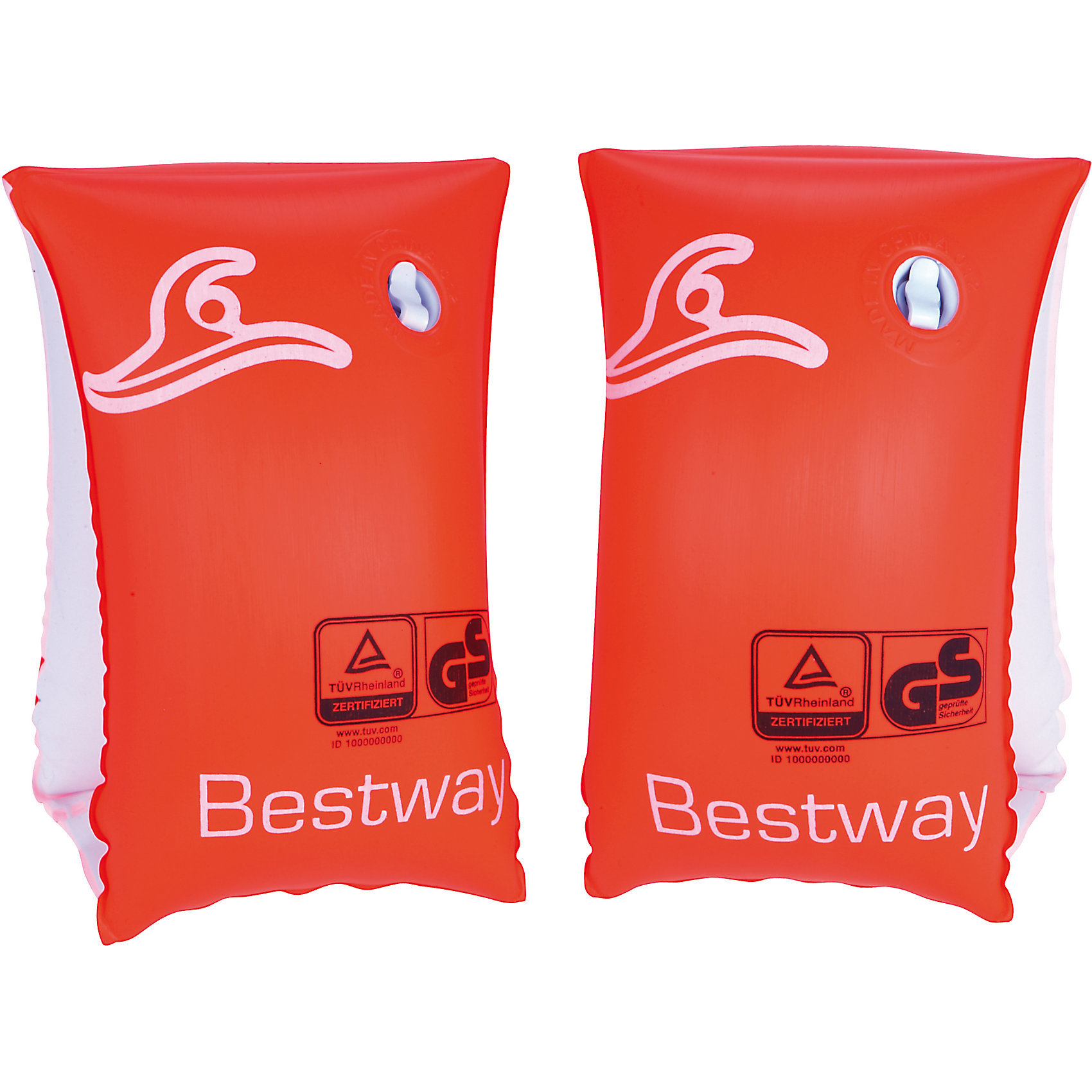 Нарукавники для плавания Safe-2-Swim, Bestway от myToys