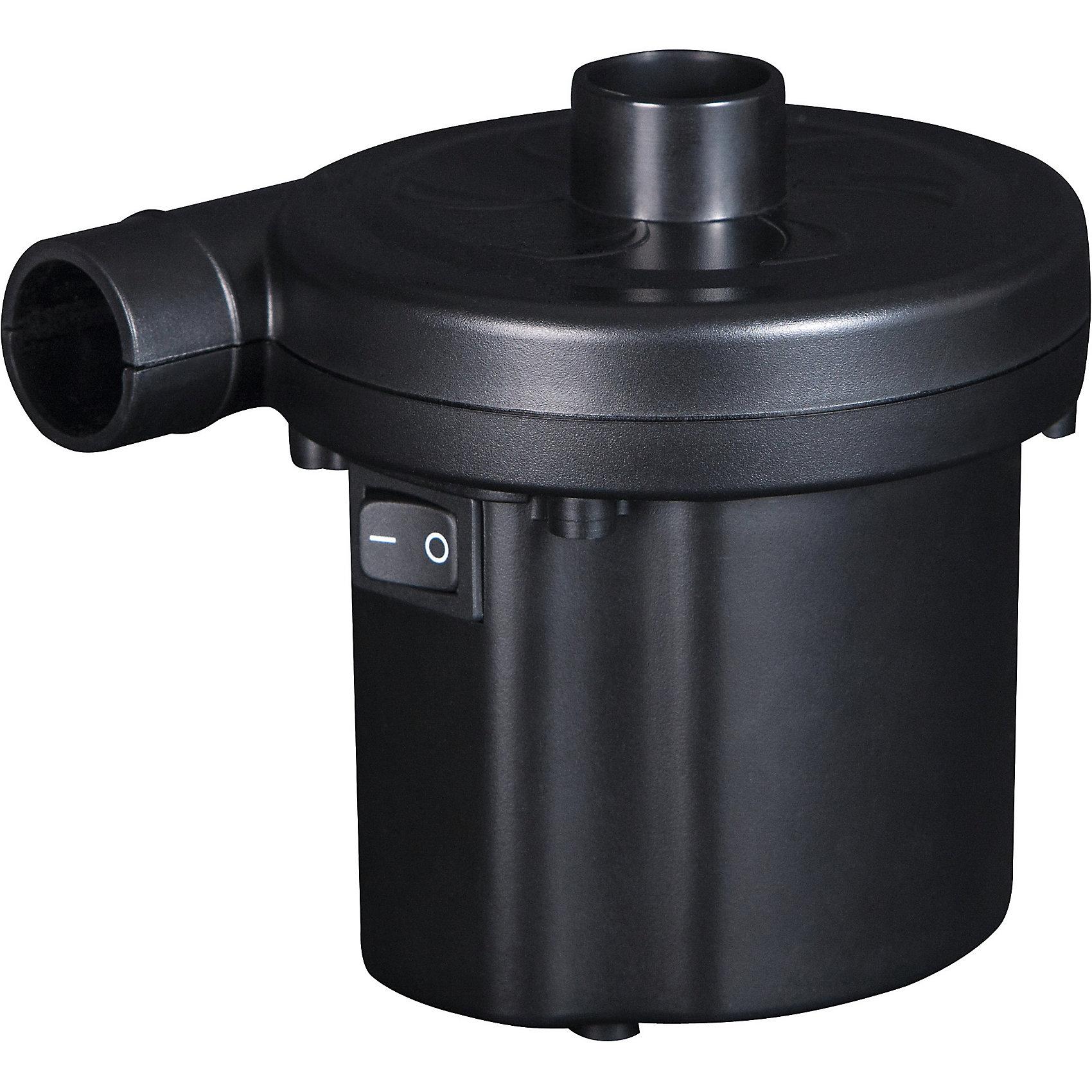 Насос электрический 220В (от сети), BestwayНасосы и аксессуары для бассейнов<br>Характеристики товара:<br><br>• материал: пластик<br>• цвет: черный<br>• размер: 20x15x25 см<br>• работает от сети<br>• мощностью:125 Вт<br>• напряжение: 220В<br>• легкий прочный материал<br>• для накачивания бассейнов, матрасов, лодок и др<br>• вес: 1 кг<br>• страна бренда: США, Китай<br>• страна производства: Китай<br><br>Летом не обойтись без надувных бассейнов, матрасов, лодок, а также различных аттракционов и т.д. Чтобы быстро надуть такие изделия, проще всего приобрести небольшой насос, с его помощью накачать вещь воздухом можно быстро и без усилий.<br><br>Предмет сделан из прочного материала, но легкого, насос мало весит, поэтому его удобно брать с собой. Изделие произведено из качественных и безопасных для детей материалов.<br><br>Насос электрический 220В (от сети) от бренда Bestway (Бествей) можно купить в нашем интернет-магазине.<br><br>Ширина мм: 140<br>Глубина мм: 105<br>Высота мм: 101<br>Вес г: 501<br>Возраст от месяцев: 144<br>Возраст до месяцев: 1188<br>Пол: Унисекс<br>Возраст: Детский<br>SKU: 4632827