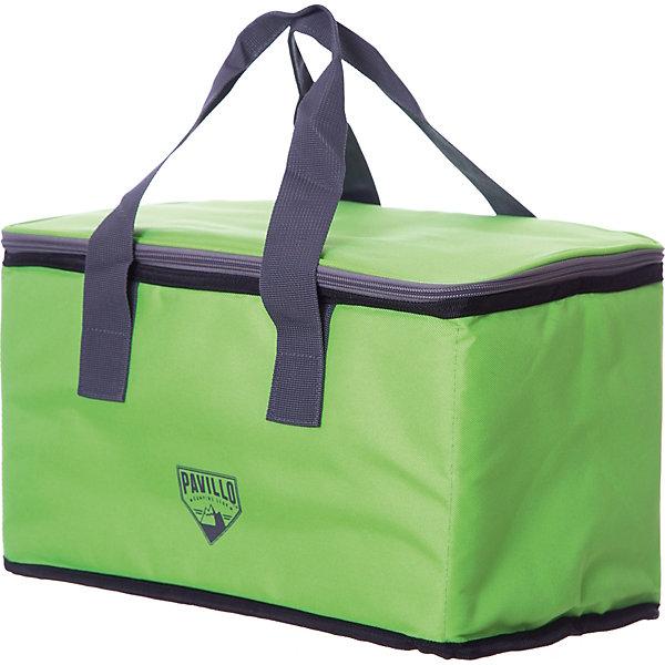 Термосумка 15 л Quellor (5 ч), BestwayДорожные сумки и чемоданы<br>Характеристики товара:<br><br>• материал: полимер<br>• цвет: зеленый<br>• размер: 19х35х20 см<br>• легкий прочный материал<br>• объем: 15 л<br>• вес: 0,34 кг<br>• походный вариант<br>• многослойный износостойкий материал<br>• легкая и удобная<br>• страна бренда: США, Китай<br>• страна производства: Китай<br><br>Сумка сделана из многослойного материала, который позволяет сохранить температуру продуктов при отсутствии холодильника в течение 5 часов - это очень практично и удобно. <br><br>Предмет сделан из прочного материала, но очень легкого. Он мало весит, небольшой в сложенном виде, его удобно брать с собой. Изделие произведено из качественных и безопасных для детей материалов.<br><br>Термосумку 15 л Quellor (5 ч), от бренда Bestway (Бествей) можно купить в нашем интернет-магазине.<br>Ширина мм: 500; Глубина мм: 250; Высота мм: 200; Вес г: 340; Возраст от месяцев: 108; Возраст до месяцев: 1188; Пол: Унисекс; Возраст: Детский; SKU: 4632831;