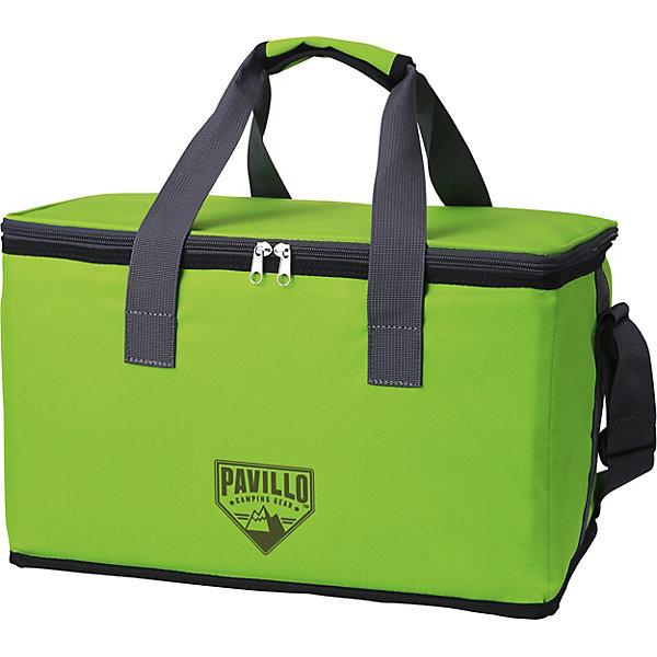Термосумка 25 л Quellor (4 ч), BestwayДорожные сумки и чемоданы<br>Характеристики товара:<br><br>• материал: полимер<br>• цвет: зеленый<br>• размер: 26х42х26 см<br>• легкий прочный материал<br>• объем: 25 л<br>• вес: 0,55 кг<br>• походный вариант<br>• многослойный износостойкий материал<br>• легкая и удобная<br>• страна бренда: США, Китай<br>• страна производства: Китай<br><br>Сумка сделана из многослойного материала, который позволяет сохранить температуру продуктов при отсутствии холодильника в течение 4 часов - это очень практично и удобно. <br><br>Предмет сделан из прочного материала, но очень легкого. Он мало весит, небольшой в сложенном виде, его удобно брать с собой. Изделие произведено из качественных и безопасных для детей материалов.<br><br>Термосумку 25 л Quellor (4 ч), от бренда Bestway (Бествей) можно купить в нашем интернет-магазине.<br>Ширина мм: 800; Глубина мм: 420; Высота мм: 260; Вес г: 510; Цвет: зеленый; Возраст от месяцев: 144; Возраст до месяцев: 1188; Пол: Унисекс; Возраст: Детский; SKU: 4632832;