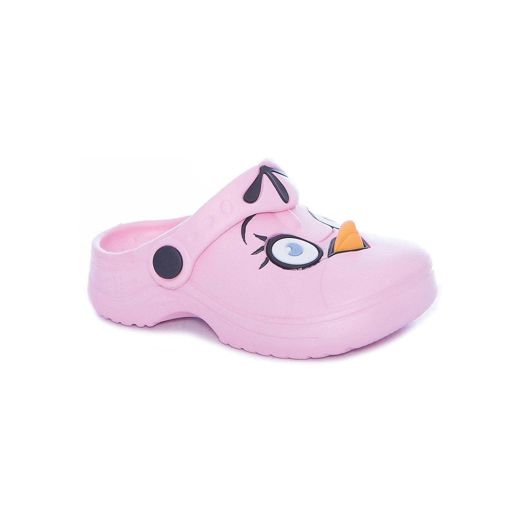 Сабо для девочки Angry Birds